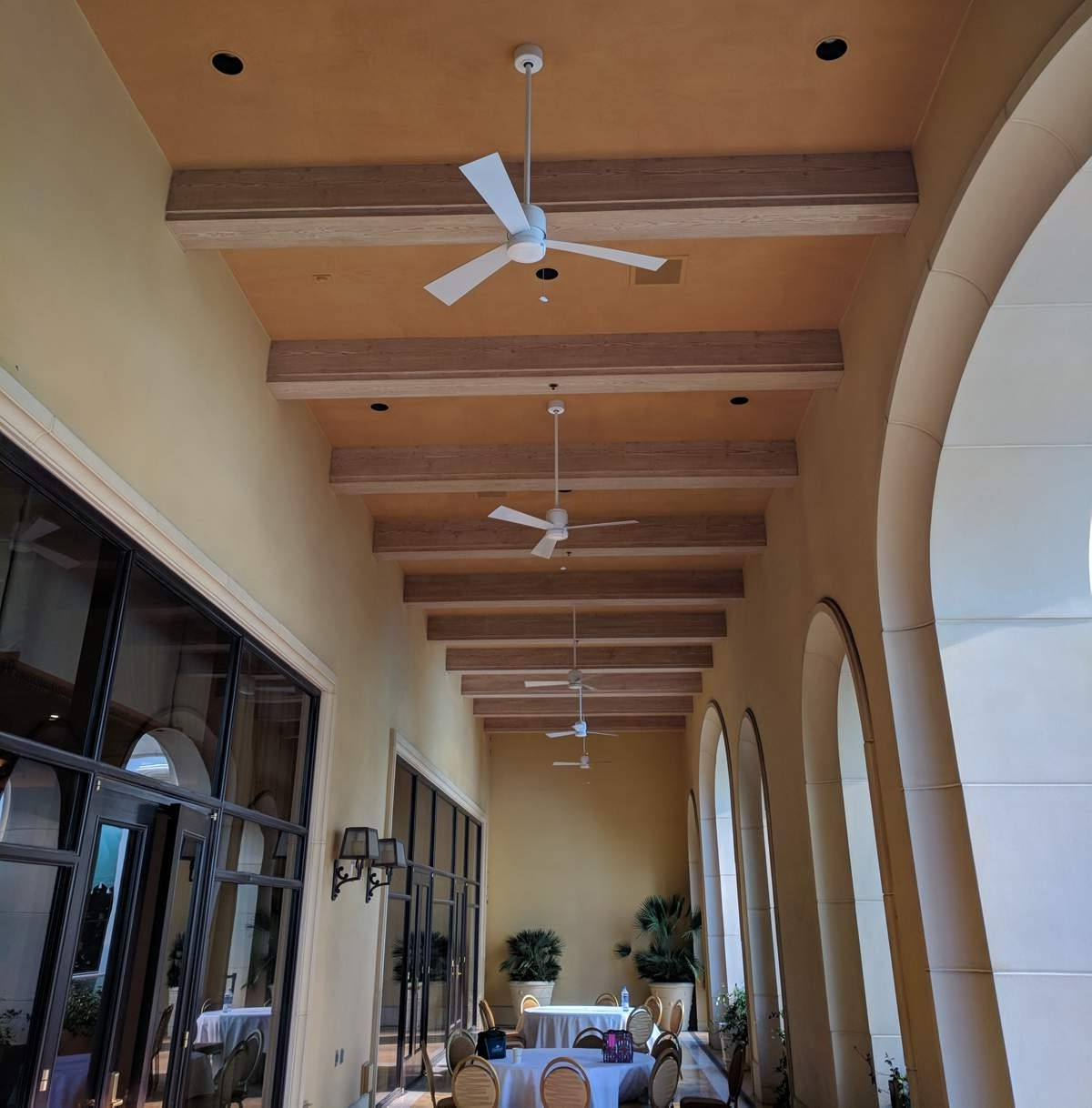 Favorite Fanimation The Zonix Wet Ceiling Fan Model Fp4640Wh In White Pertaining To Zonix 3 Blade Ceiling Fans (View 7 of 20)