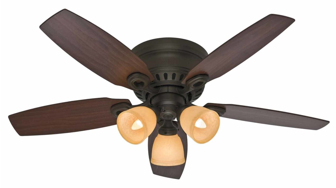 Favorite Hatherton 5 Blade Ceiling Fans Pertaining To Hunter Hatherton In (View 6 of 20)