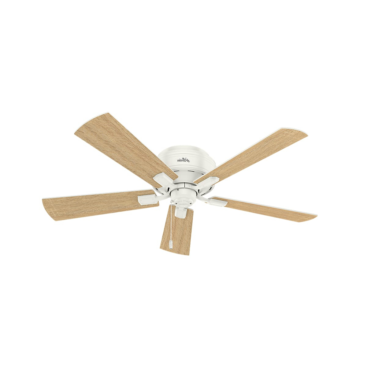 Favorite Hunter Low Profile 5 Blade Ceiling Fans Intended For Hunter Crestfield 52 Led Low Profile (View 16 of 20)