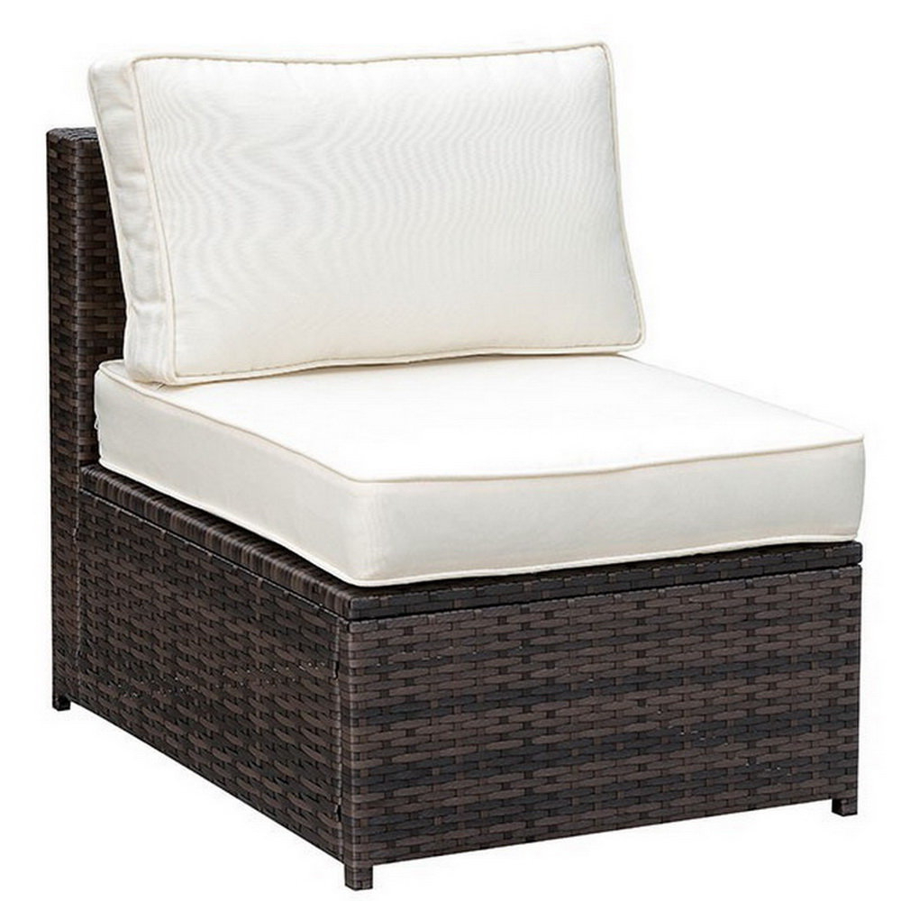 Favorite Purington Circular Patio Sectionals With Cushions Throughout Lerner Patio Chair With Cushions (View 7 of 20)