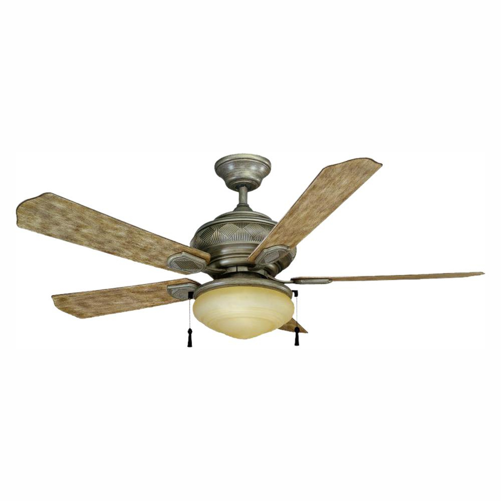 Favorite Ratcliffe 5 Blade Led Ceiling Fans Regarding Hampton Bay Portsmouth 52 In (View 9 of 20)
