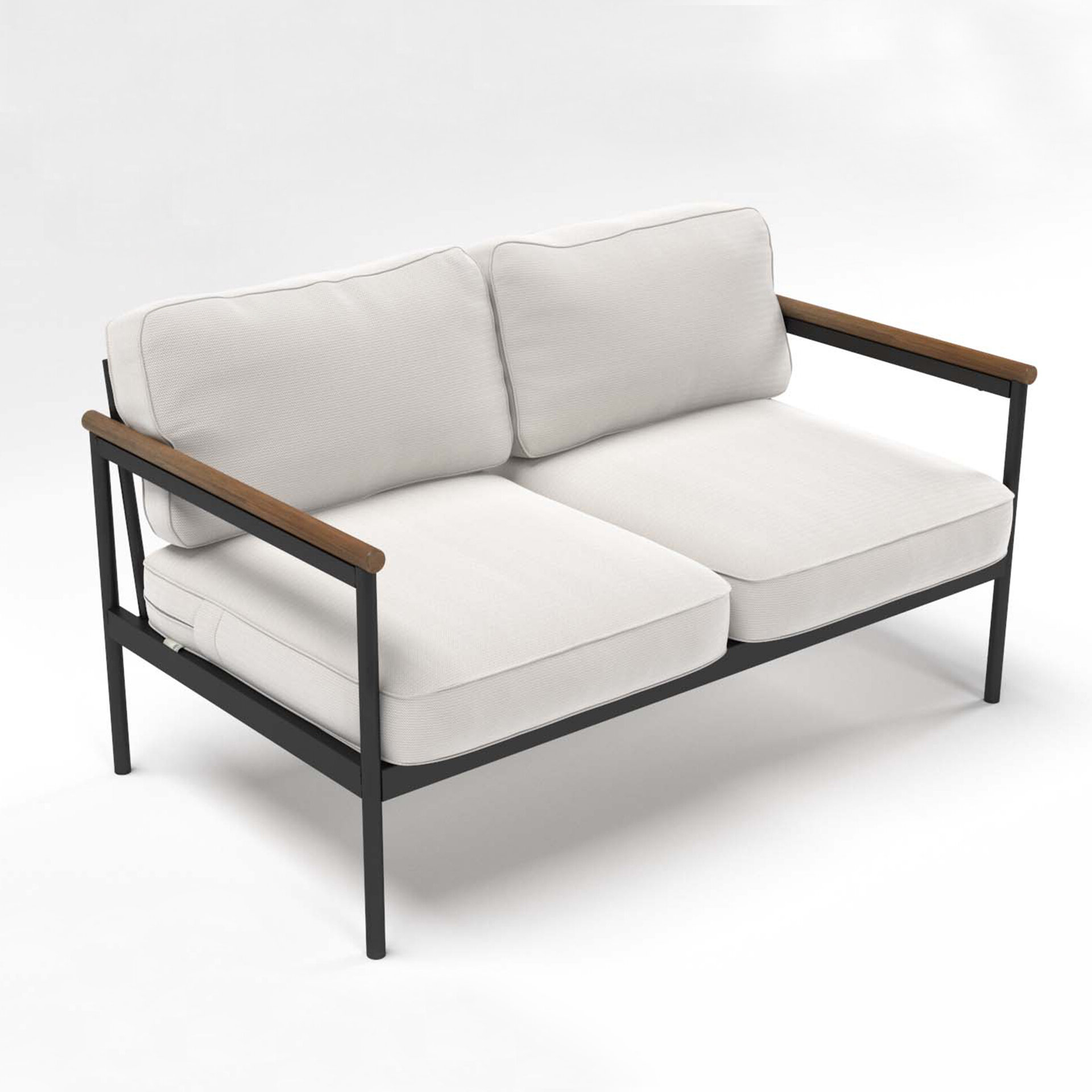 Freitag Loveseats With Cushions Inside 2020 Outdoor Loveseat With Cushions (View 11 of 20)