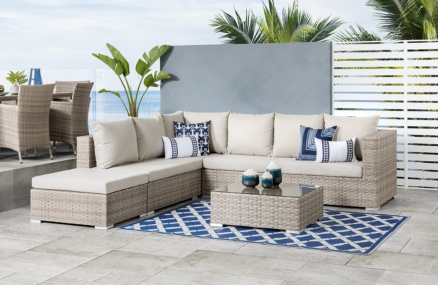 Furniture Stores Barbados, Home Décor And Outdoor Patio In 2020 Michal Patio Sofas With Cushions (View 7 of 20)