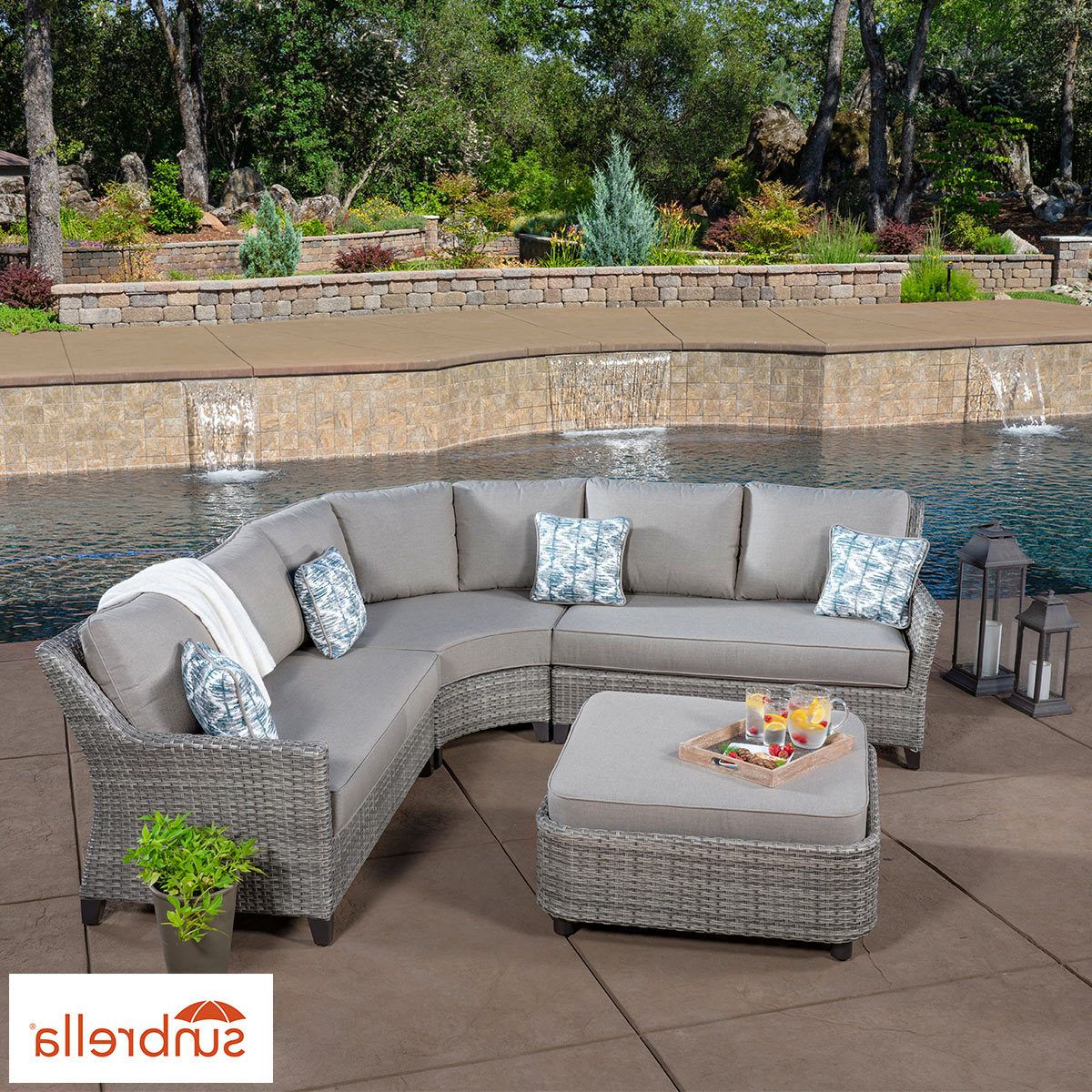 Gardens In 2019 Stockwell Patio Sofas With Cushions (View 5 of 20)