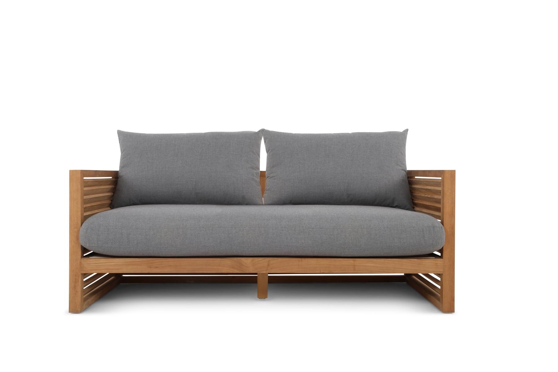 Gebraucht Couchtisch Patio Sofas Sofa Teak Danish Cushions With Regard To Newest Brunswick Teak Loveseats With Cushions (View 12 of 20)