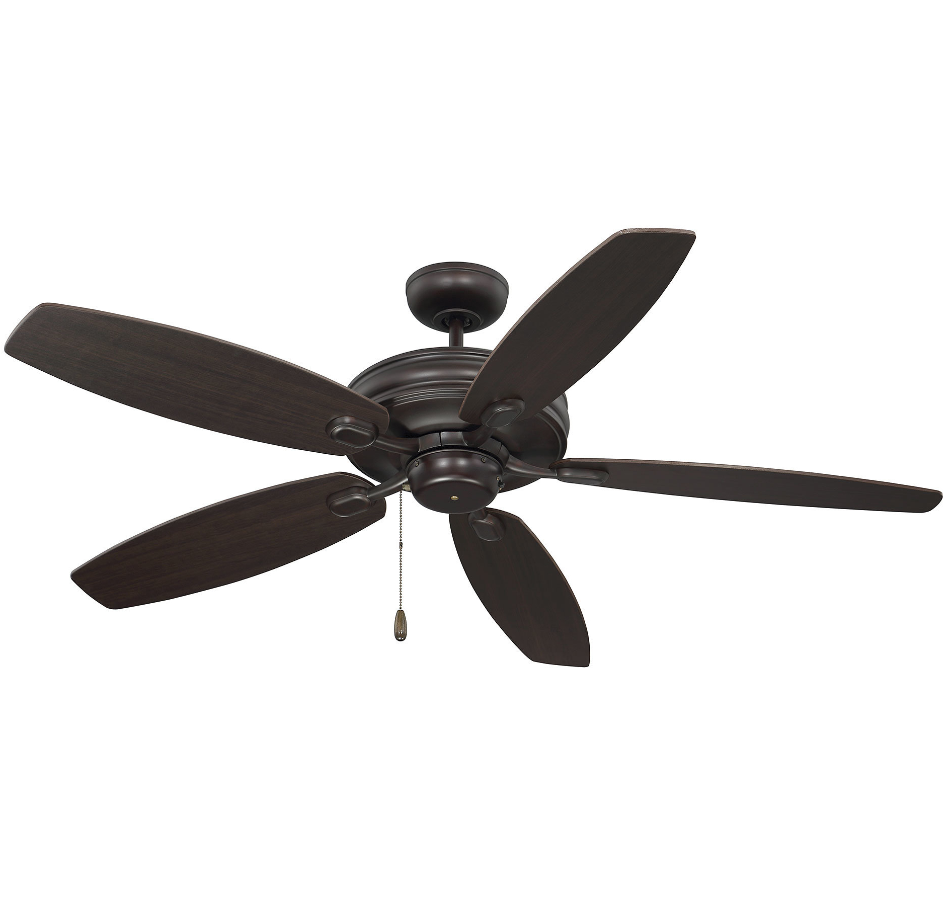 "Genevie 52"" Kentwood 5 Blade Ceiling Fan Within Well Known Sea Wind 5 Blade Ceiling Fans (View 11 of 20)"