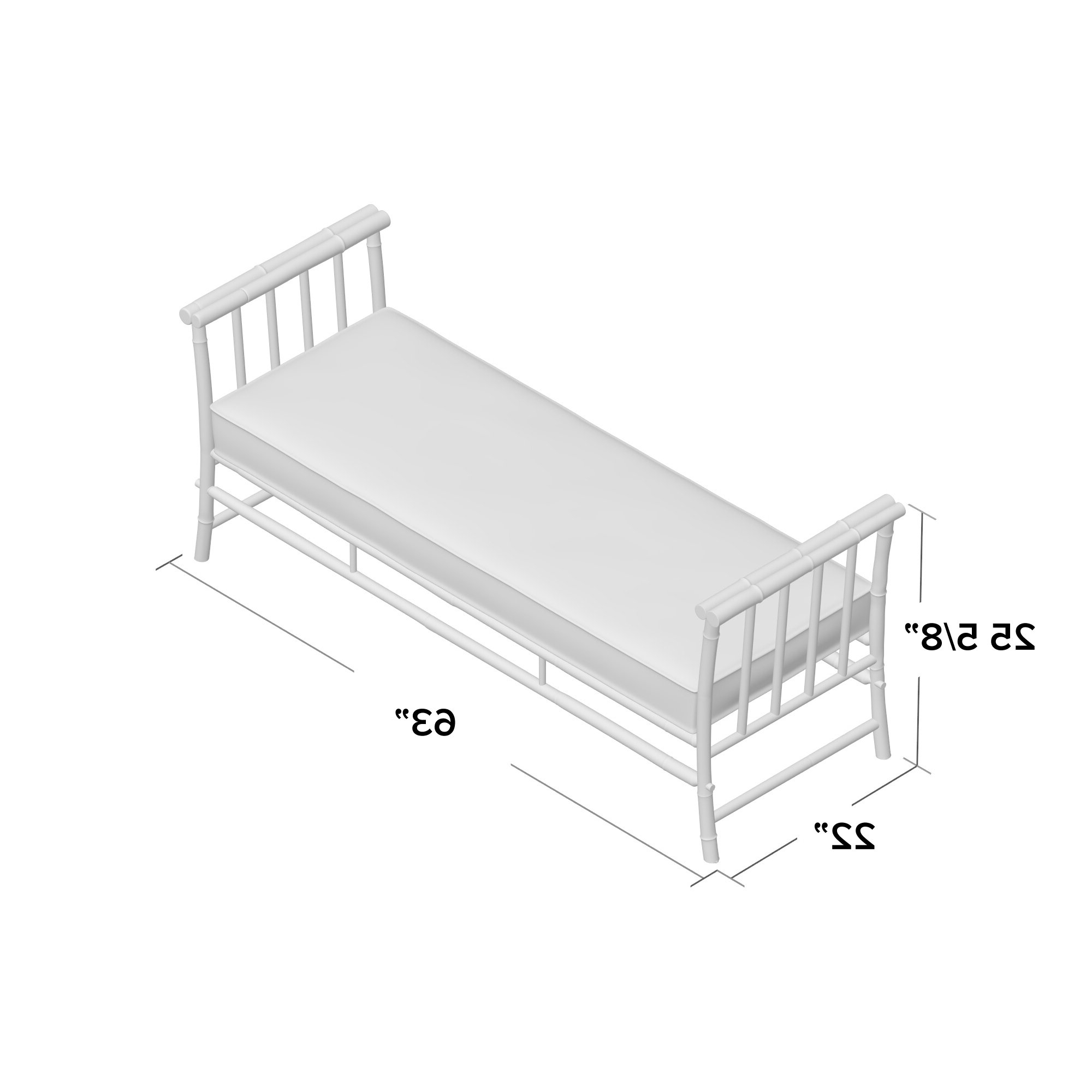Grosvenor Bamboo Patio Daybeds With Cushions Regarding 2019 Grosvenor Bamboo Patio Daybed With Cushions (View 6 of 20)