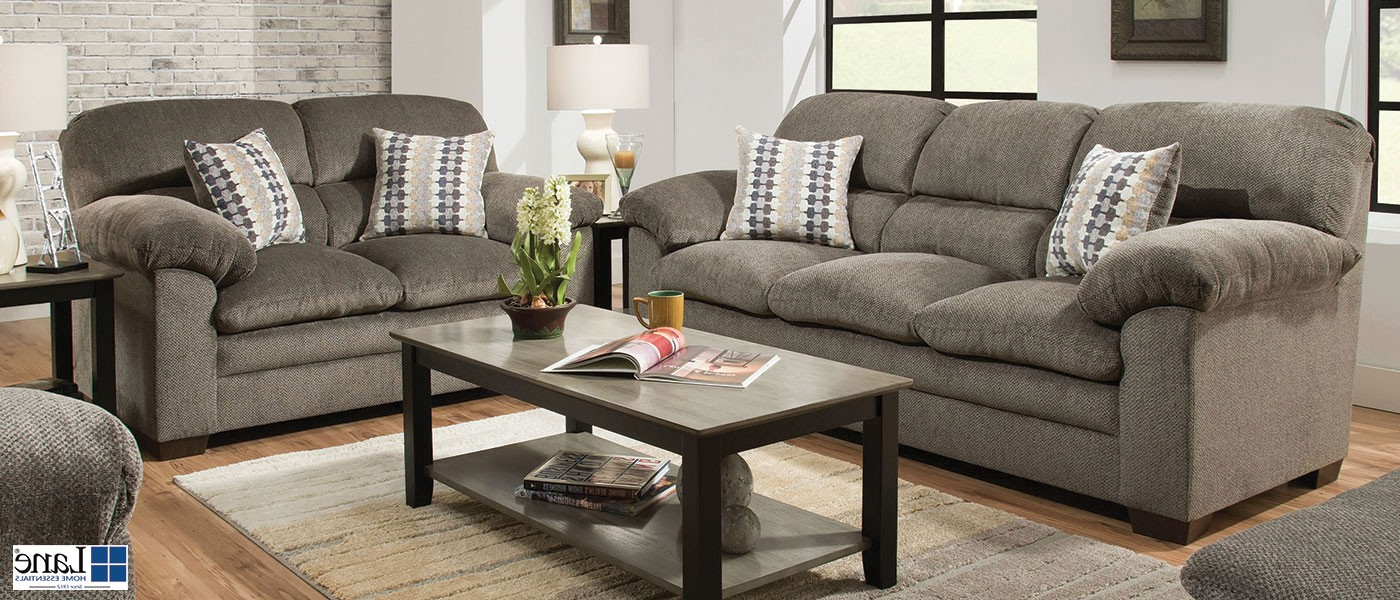 Harlow Ash Sofa And Loveseat For Best And Newest Owens Loveseats With Cushion (Gallery 16 of 20)