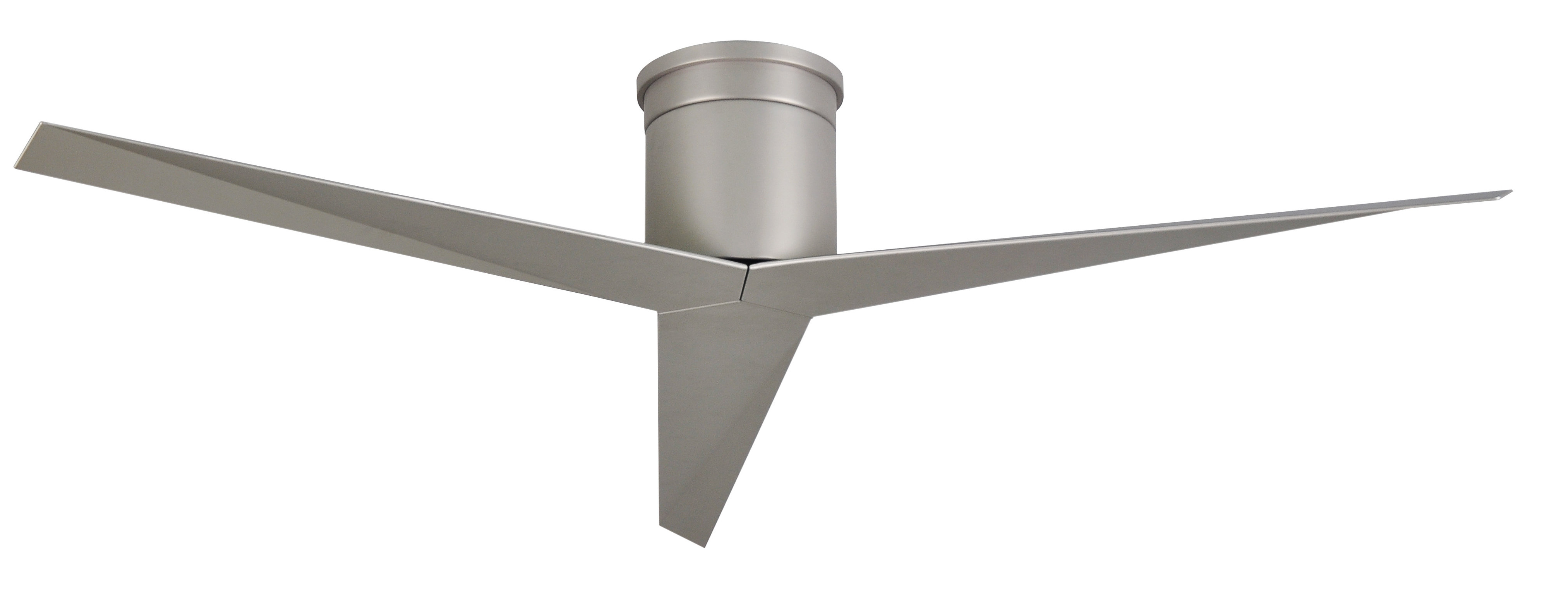 """Hedin 3 Blade Hugger Ceiling Fans Throughout Current Orren Ellis 56"""" Hedin 3 Blade Hugger Ceiling Fan With Remote (Gallery 4 of 20)"""