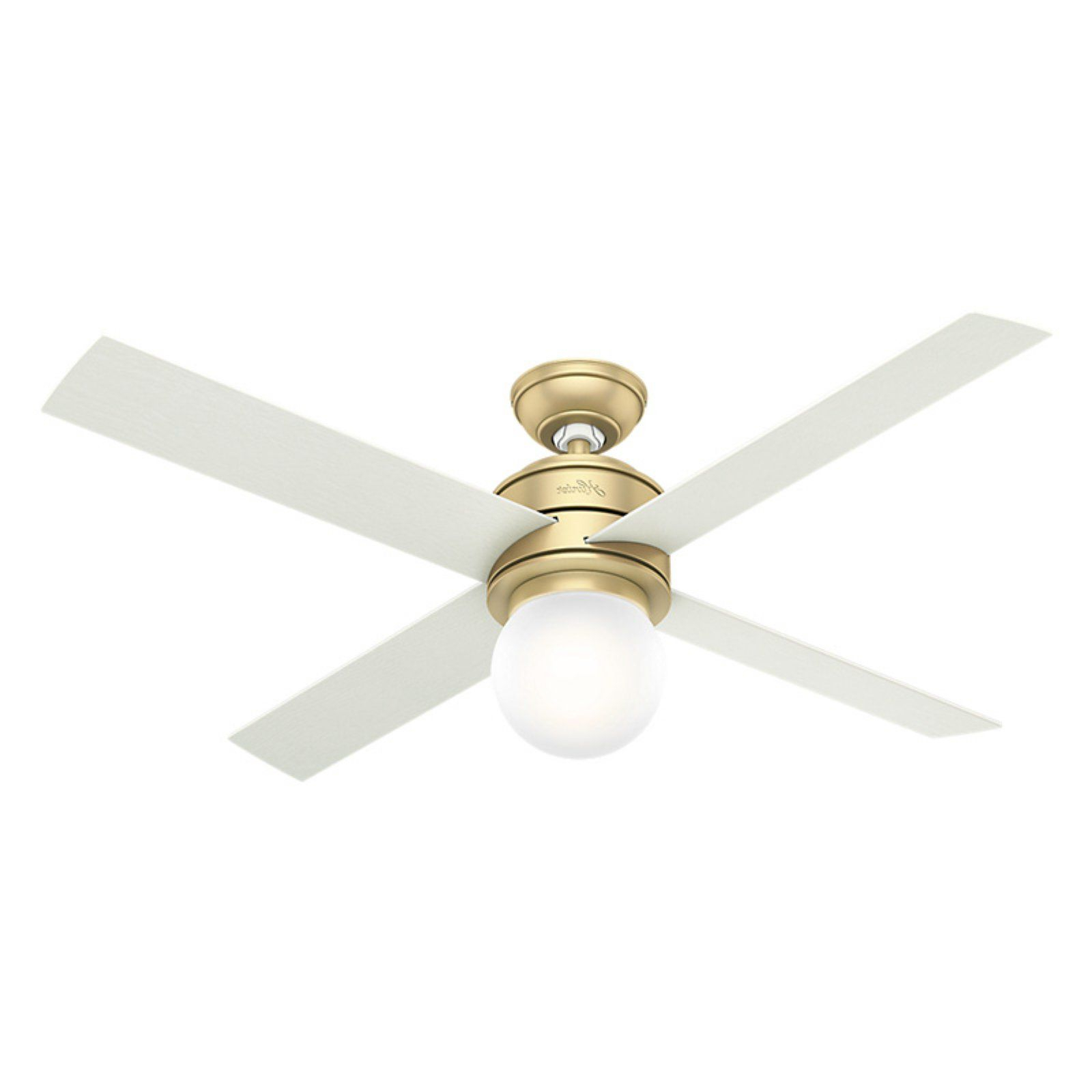 "Hemsworth 4 Blade Ceiling Fans Regarding Well Known Hunter 5932 Hepburn 36"" 3 Blade Ceiling Fan – Blades And Led (View 10 of 20)"