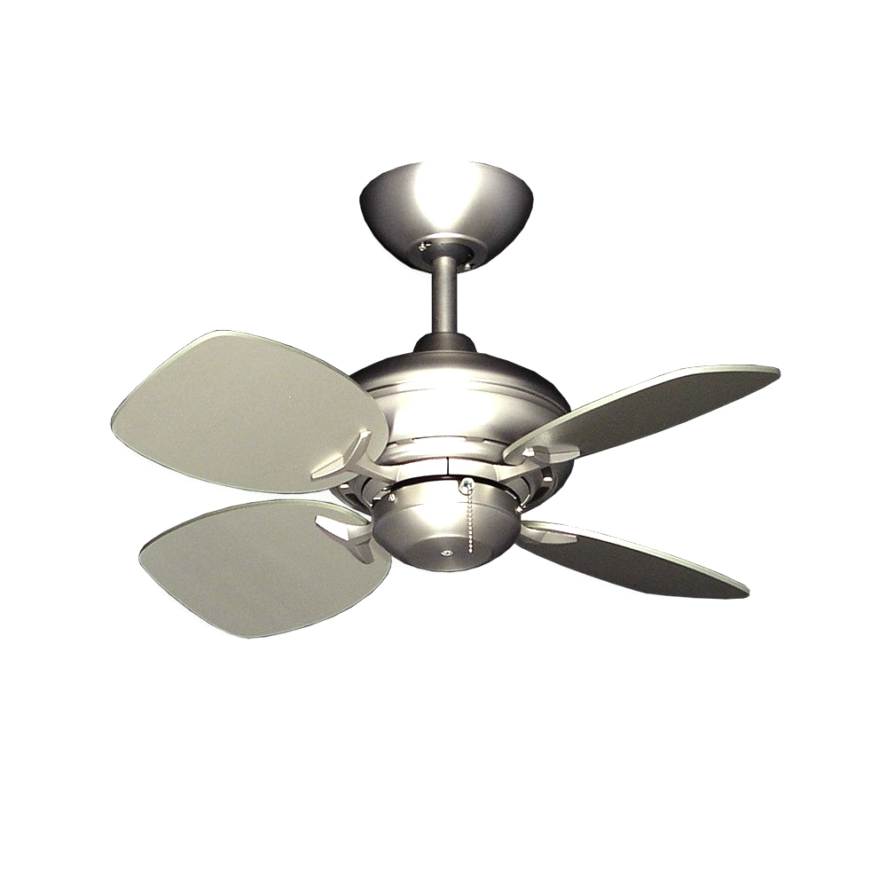 Hemsworth 4 Blade Ceiling Fans With Regard To 2020 Latest Small Ceiling Fans For Spacesthe Monte Carlo Fan (View 11 of 20)
