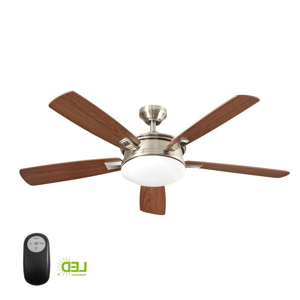 Home Decorators Collection Daylesford 52 In. Led Indoor Within Preferred Troy 3 Blade Led Ceiling Fans (Gallery 17 of 20)