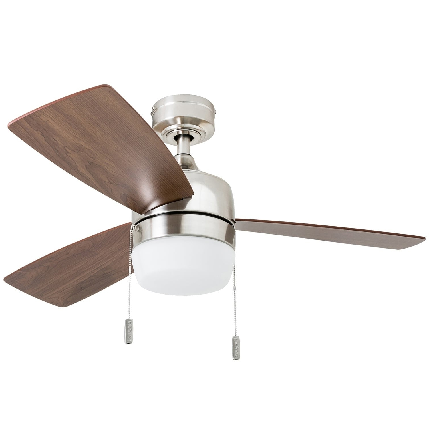Honeywell Barcadero Modern Brushed Nickel Led Ceiling Fan With Regard To Famous Beltran 5 Blade Ceiling Fans (View 12 of 20)