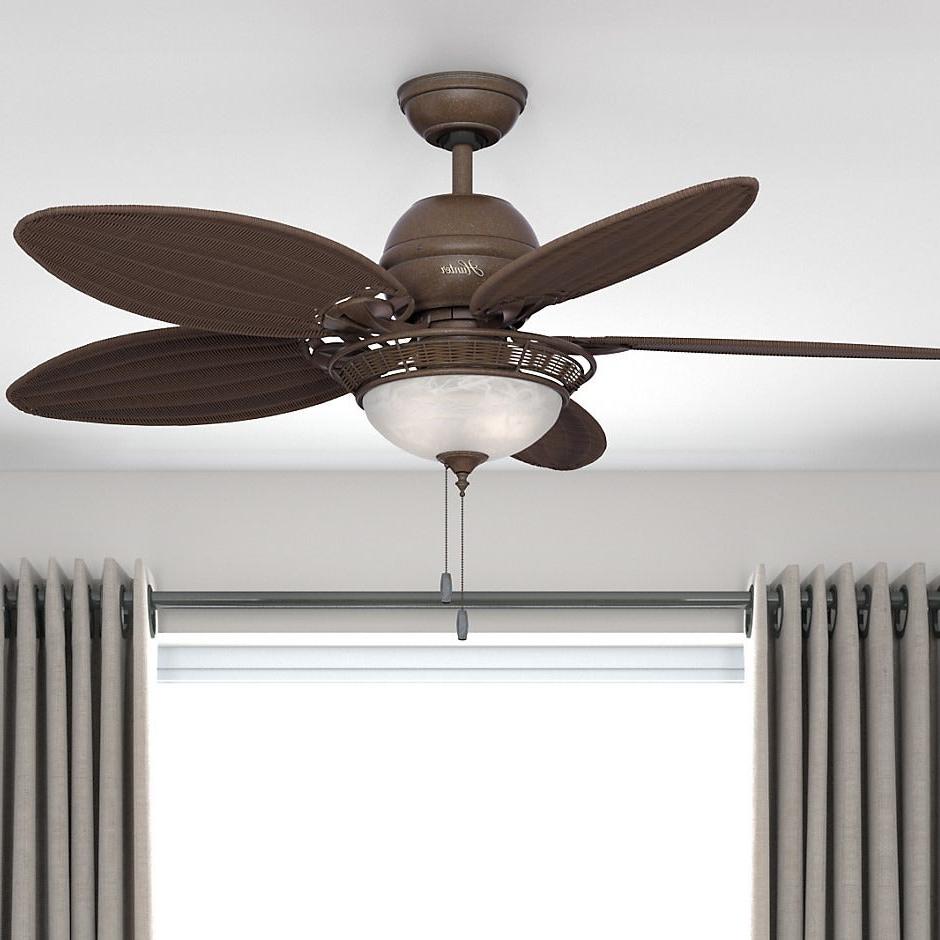 Hunter 54 Inch Caribbean Breeze Fan Within 2019 Caribbean Breeze 5 Blade Ceiling Fans (Gallery 5 of 20)