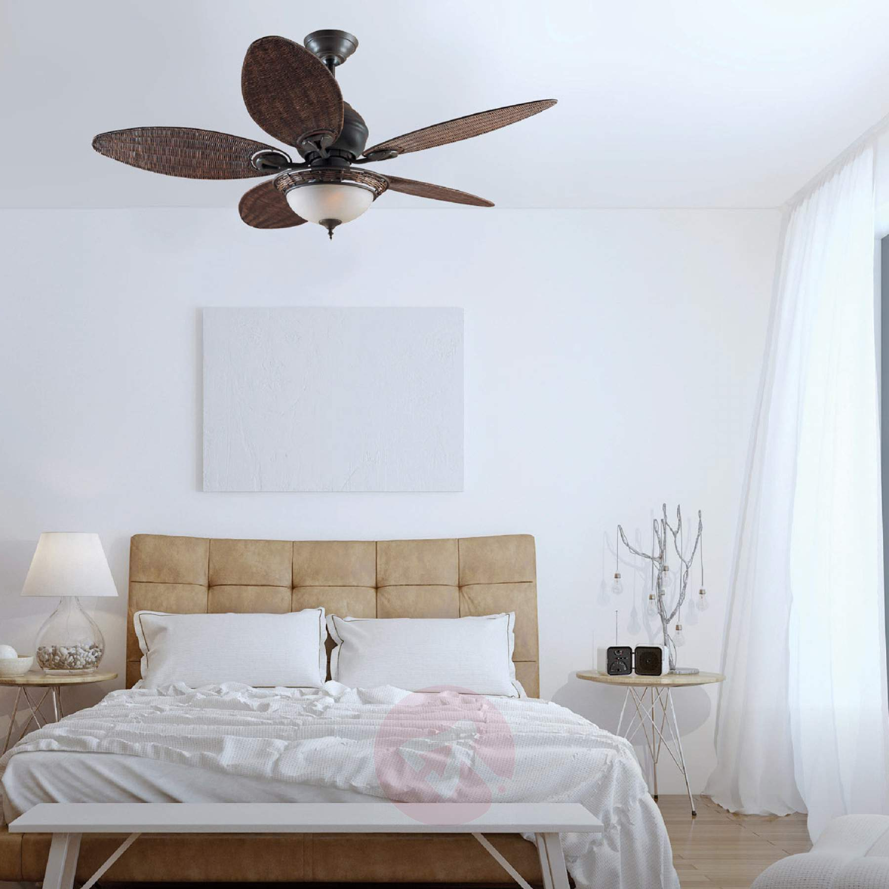 Hunter Caribbean Breeze Ceiling Fan Pertaining To Widely Used Caribbean Breeze 5 Blade Ceiling Fans (View 11 of 20)