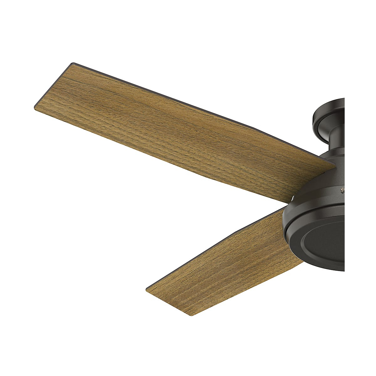 Hunter Dempsey 52 Low Profile With Regard To Recent Dempsey Low Profile 4 Blade Ceiling Fans With Remote (View 7 of 20)