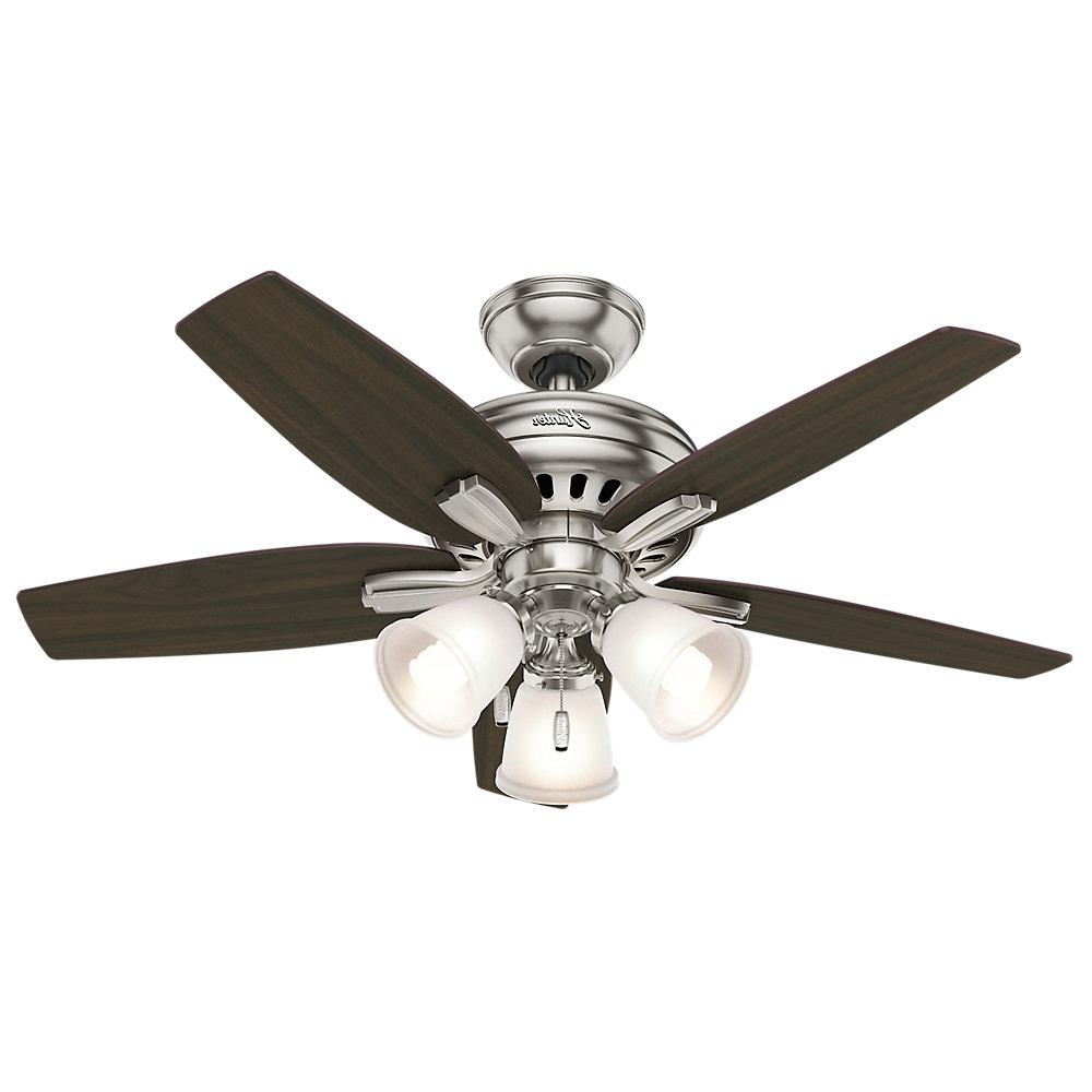 "Hunter Fan 42"" Newsome 5 Blade Ceiling Fan & Reviews Inside Most Recently Released Watson 5 Blade Ceiling Fans (View 4 of 20)"