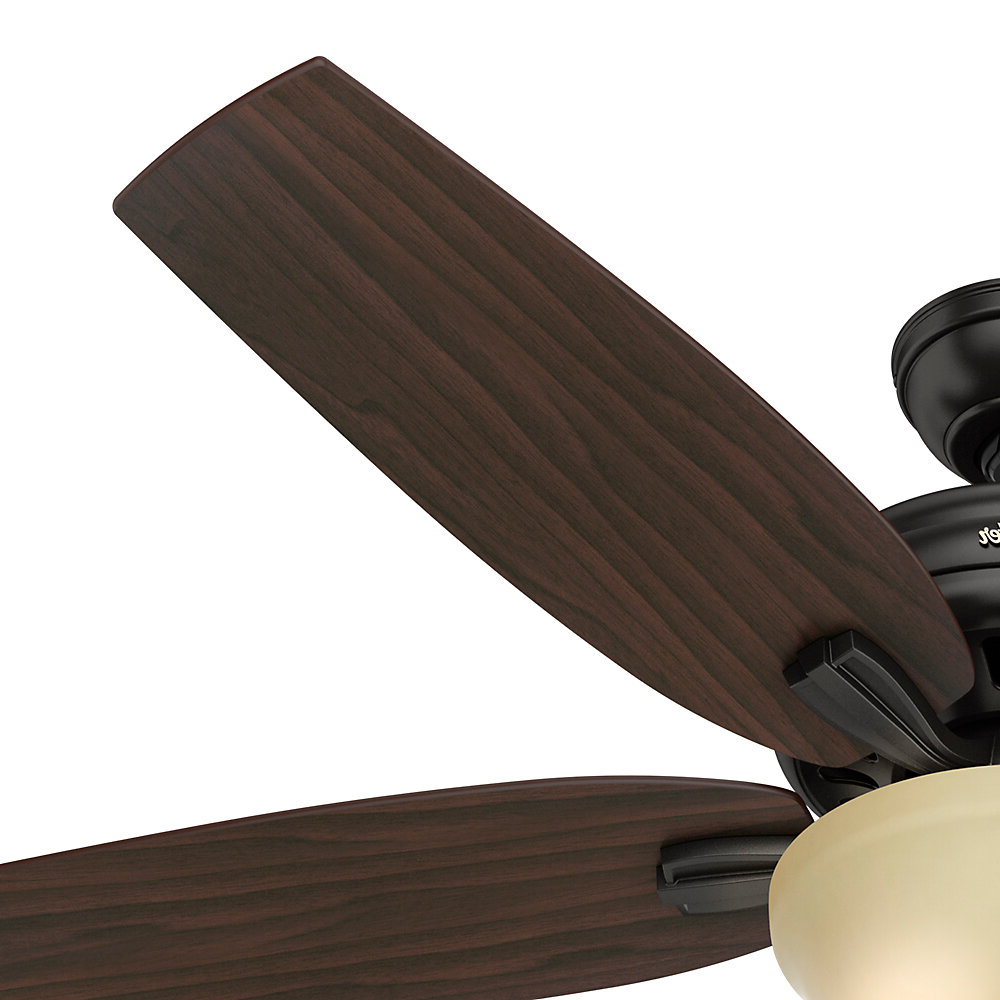"Hunter Fan 56"" Newsome 5 Blade Ceiling Fan Intended For Latest Newsome 5 Blade Ceiling Fans (View 7 of 20)"