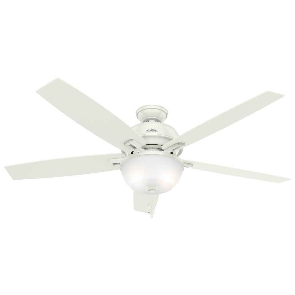 Hunter Fan Donegan Collection 60 Inch Fresh White 5 Blade Ceiling Fan With  Reversible Blades Within Best And Newest Donegan 5 Blade Ceiling Fans (View 15 of 20)