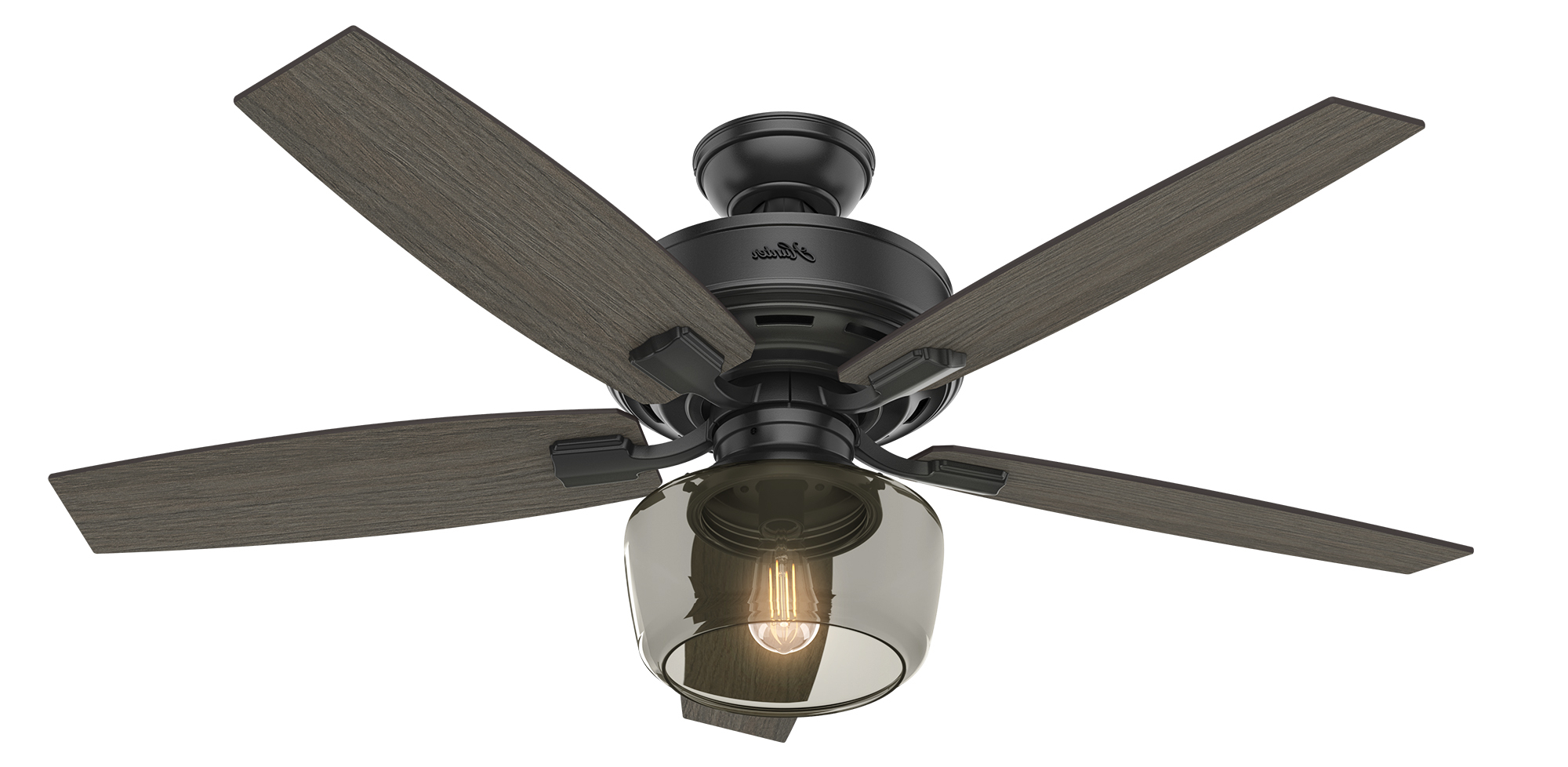 Hunter Fan Regarding Bennett 5 Blade Led Ceiling Fans With Remote (Gallery 4 of 20)
