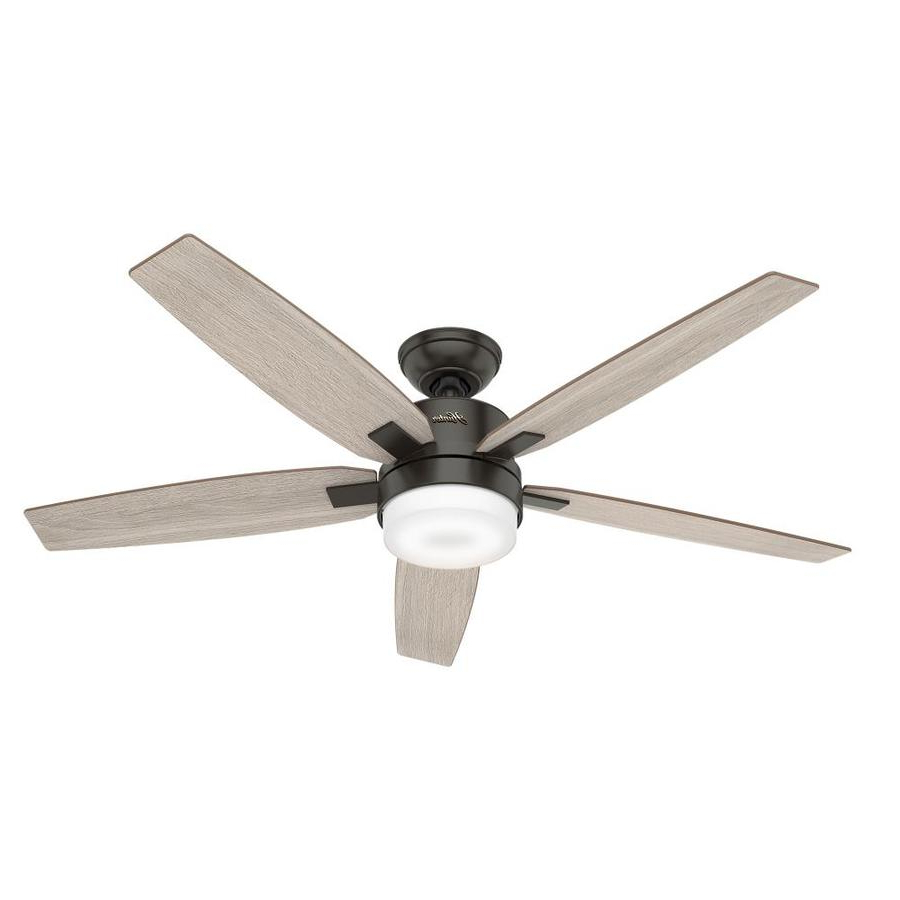 Hunter Windemere Ii Led 54 In Indoor Ceiling Fan (View 8 of 20)