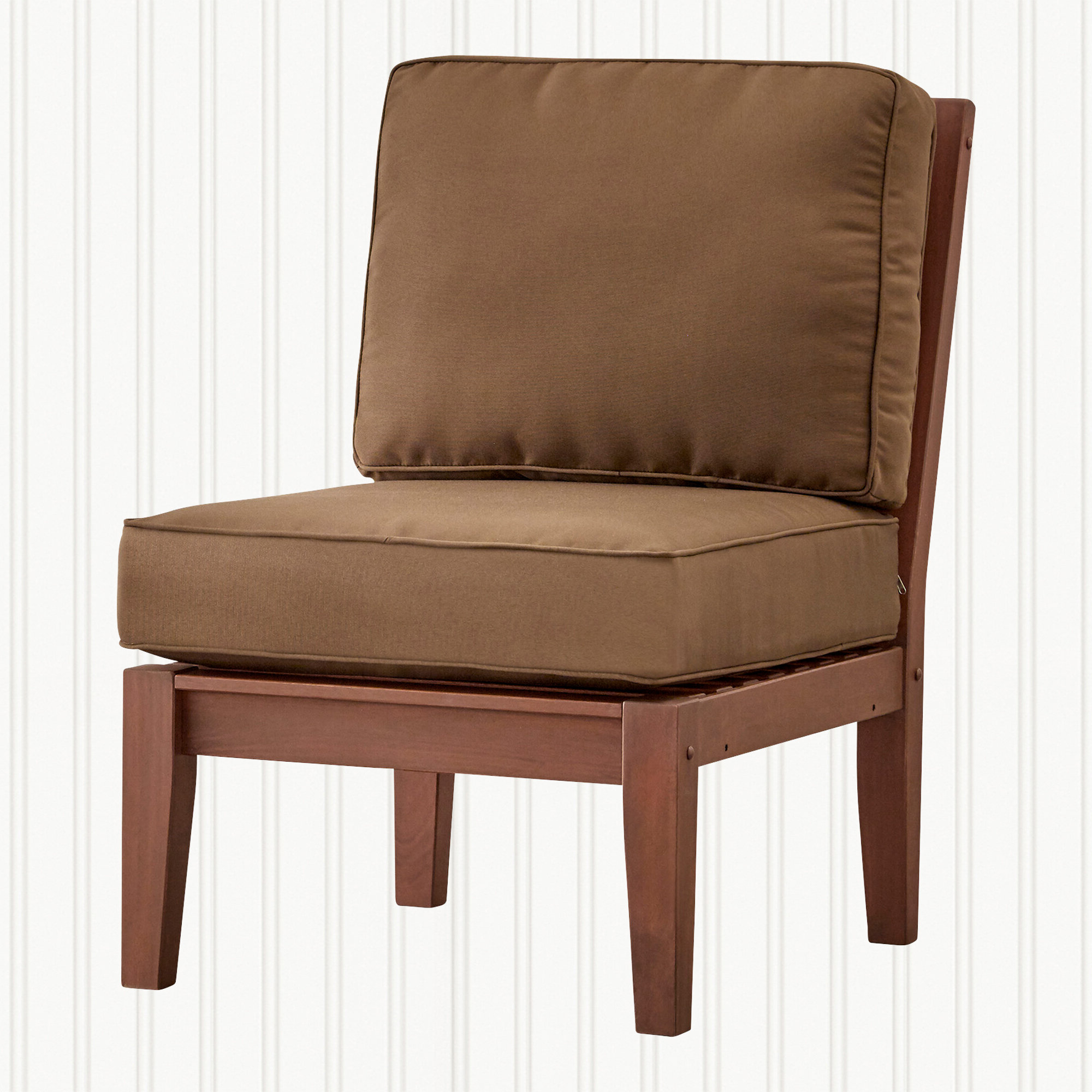 Hursey Armless Chair With Regard To Most Current Hursey Patio Sectionals (Gallery 18 of 20)