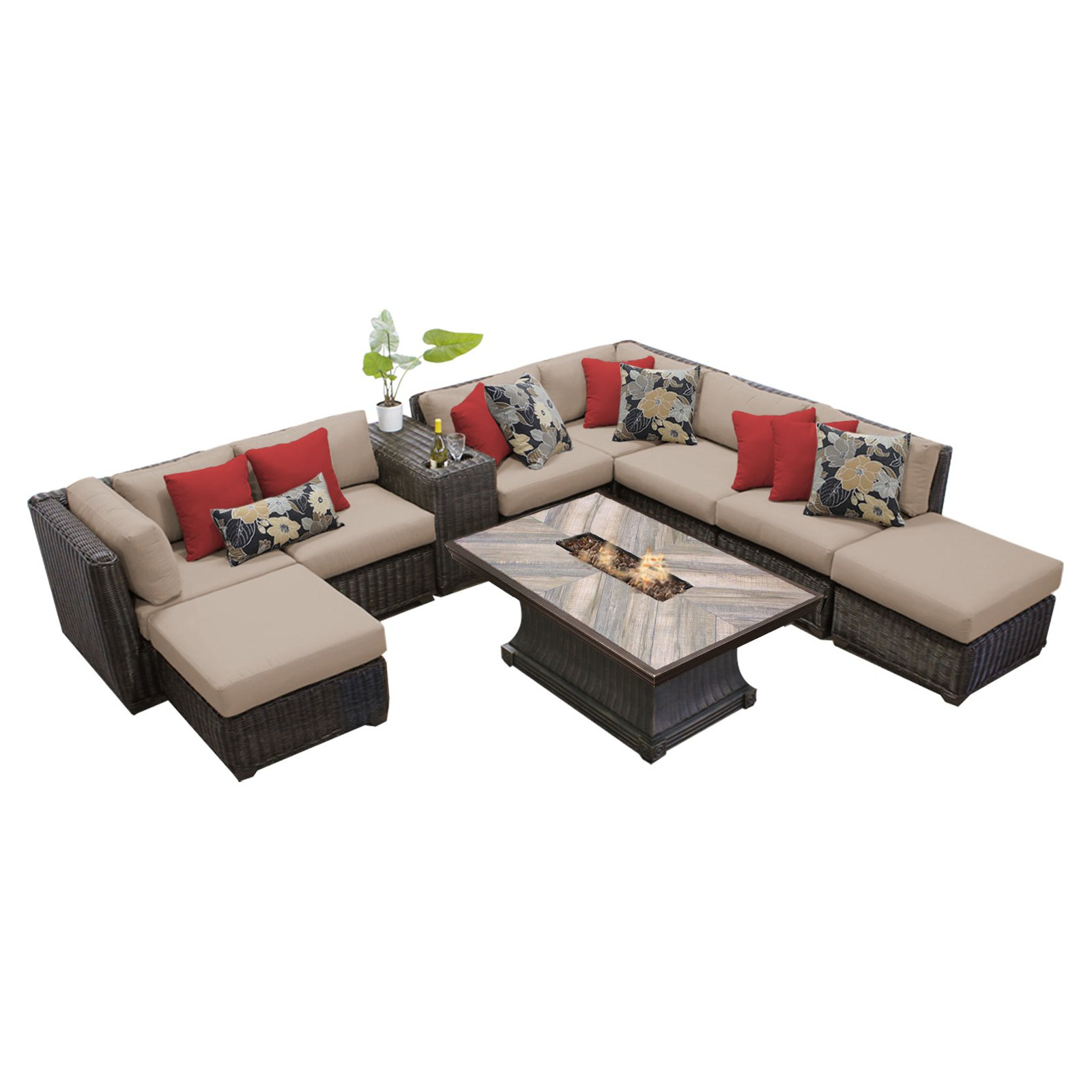 Jamarion 4 Piece Sectionals With Sunbrella Cushions In Newest Brayden Studio Jamarion 4 Piece Sectional With Cushions In (View 2 of 20)