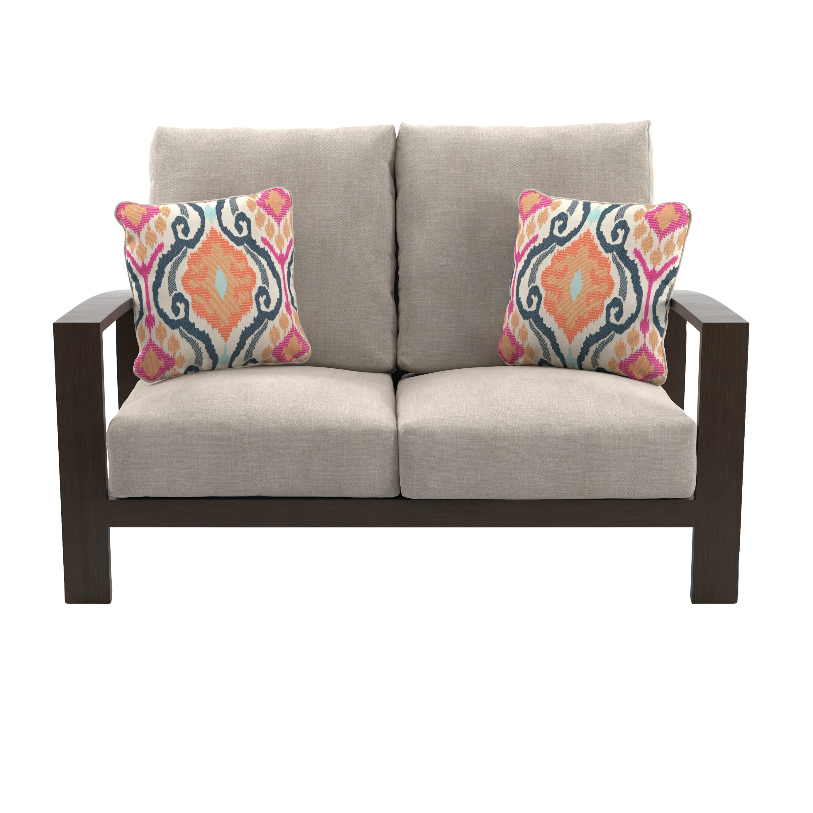 Jay Loveseat With Cushions Pertaining To Recent Bristol Loveseats With Cushions (View 11 of 20)
