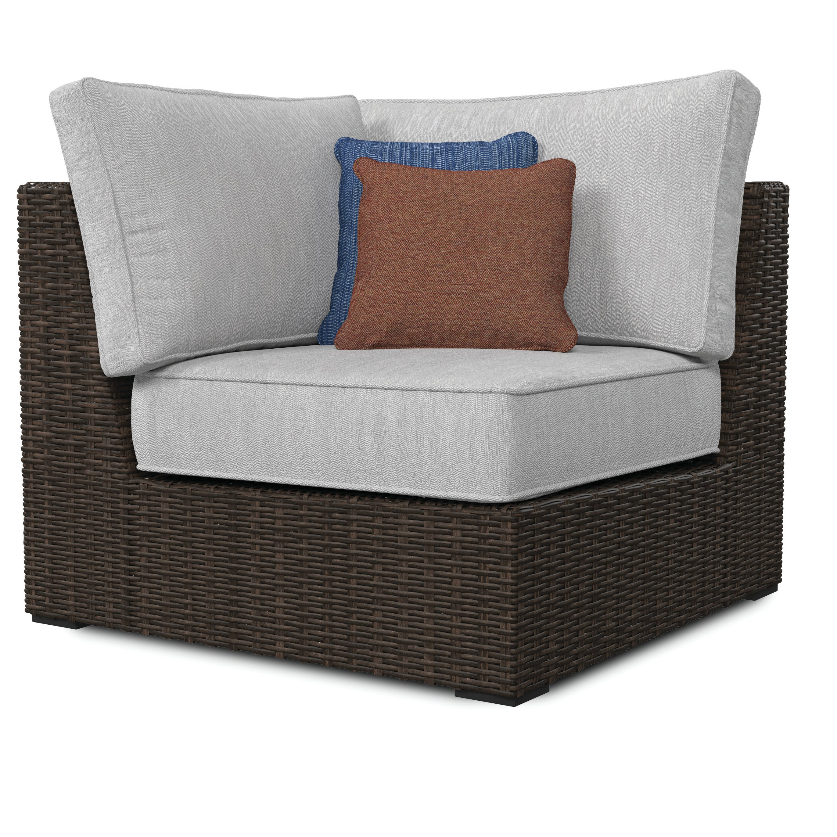 Joss & Main With Keever Patio Sofas With Sunbrella Cushions (View 9 of 20)