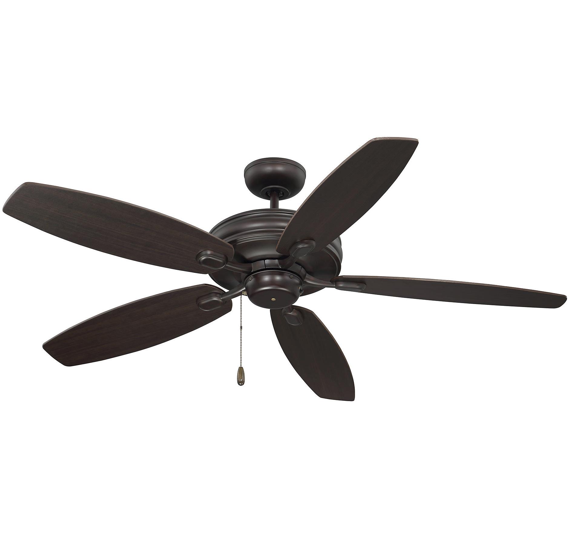 "Kalea 5 Blade Outdoor Ceiling Fans Throughout Preferred Genevie 52"" Kentwood 5 Blade Ceiling Fan (View 12 of 20)"
