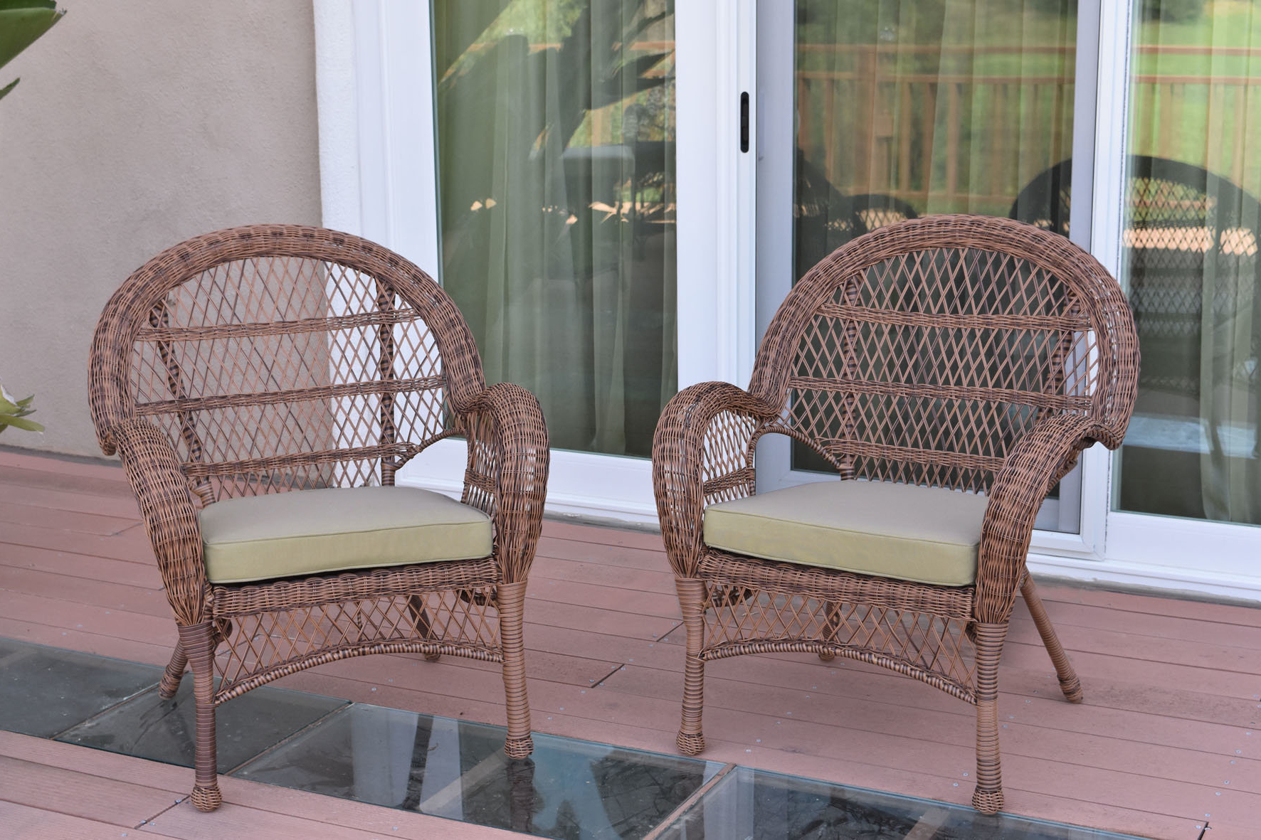 Karan Wicker Patio Loveseats In Most Popular Ophelia & Co (View 3 of 20)