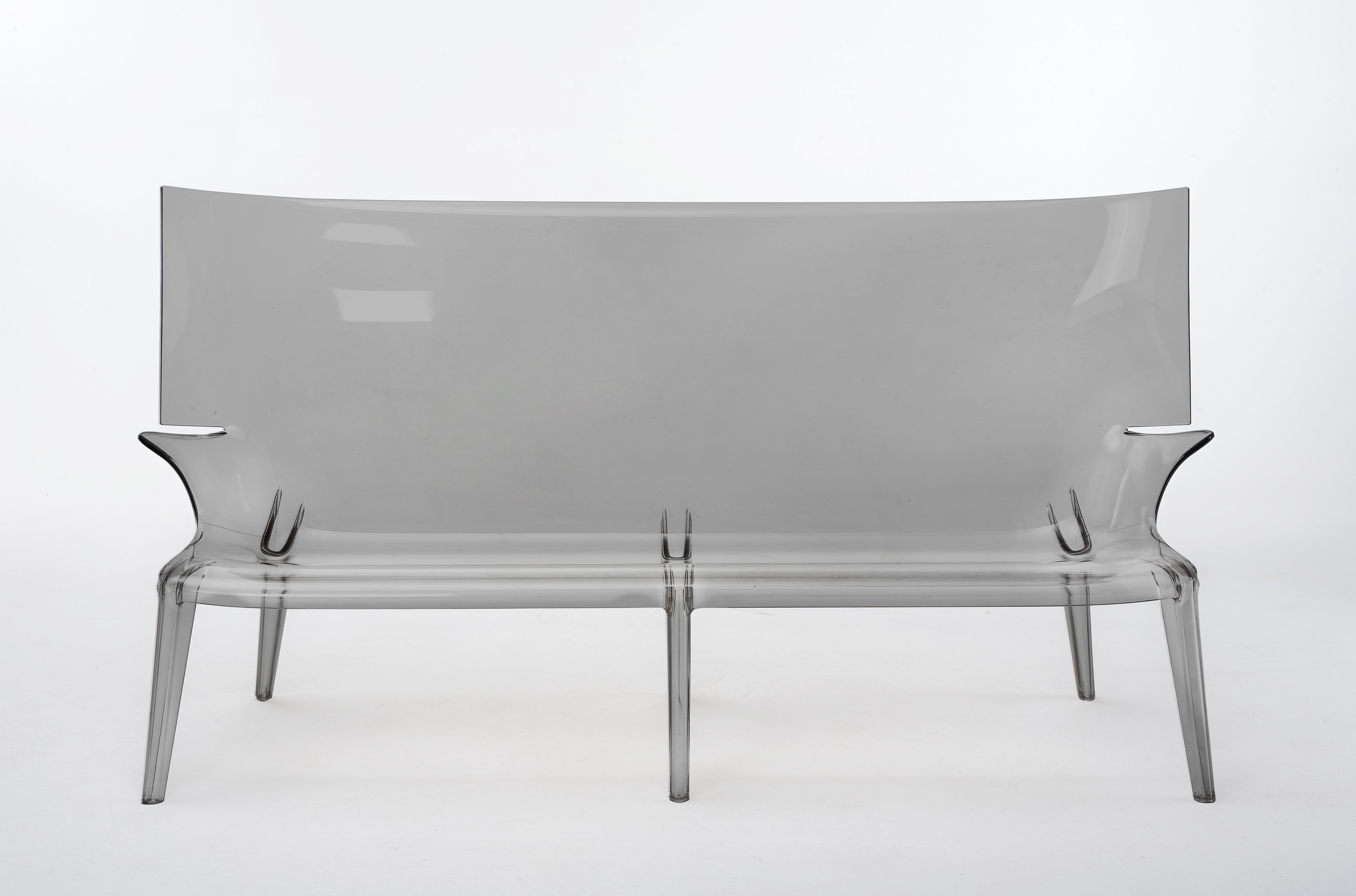 Kartell Ghost Patio Sofa In Popular Clary Teak Lounge Patio Daybeds With Cushion (Gallery 11 of 20)