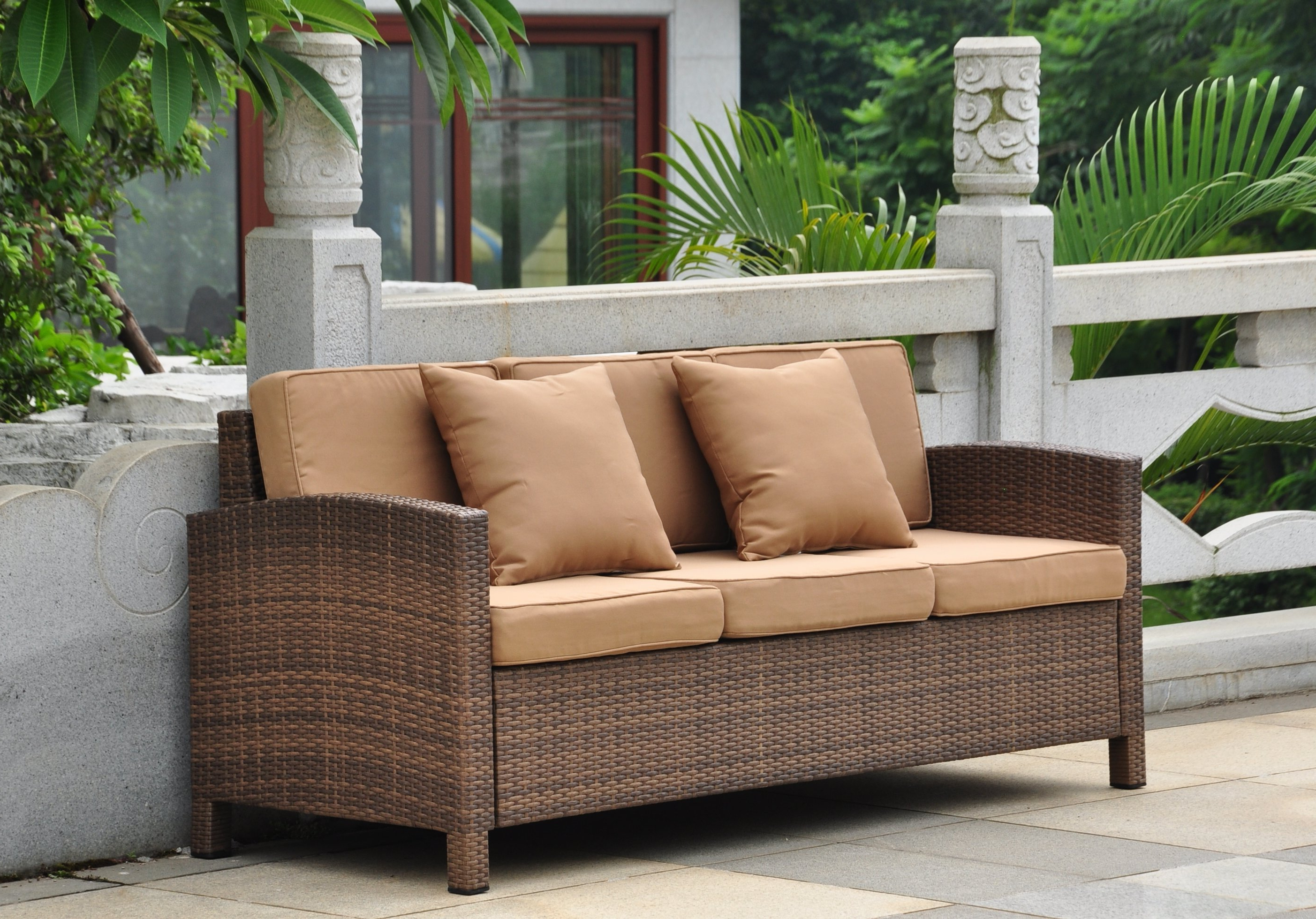 Featured Photo of Katzer Patio Sofas With Cushions