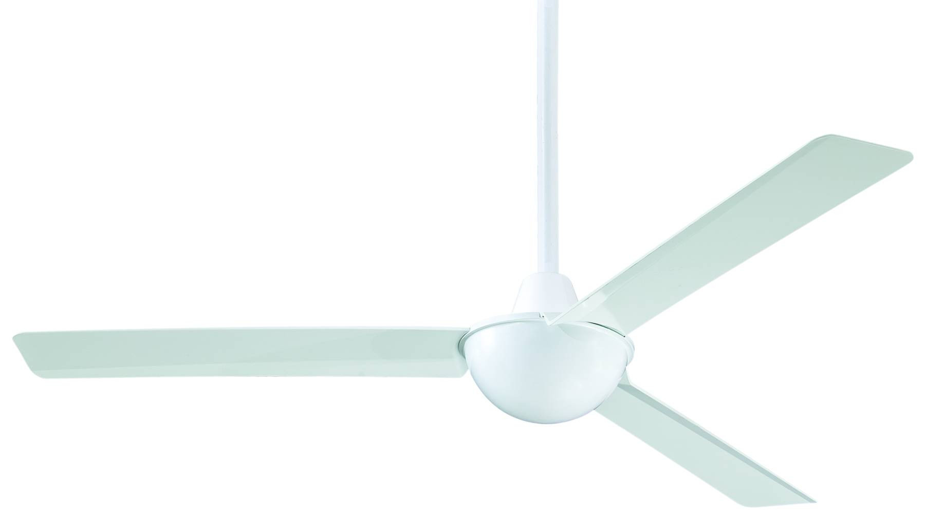 Kewl 3 Blade Ceiling Fans With Regard To Fashionable Minka Aire Kewl Ceiling Fan Model Mf F833 Wh In White (View 11 of 20)
