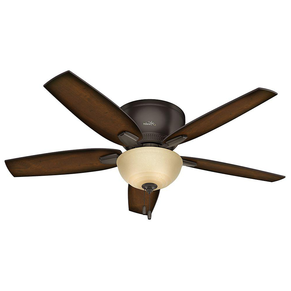 Key Biscayne 5 Blade Outdoor Ceiling Fans In Best And Newest Hunter Oberlin 52 In (View 4 of 20)