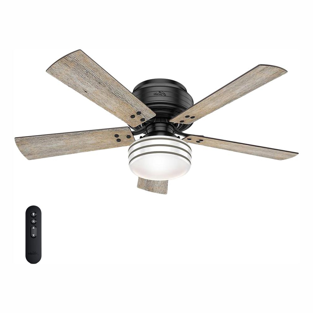 Key Biscayne 5 Blade Outdoor Ceiling Fans Regarding Most Recent Hunter Cedar Key 52 In (View 7 of 20)