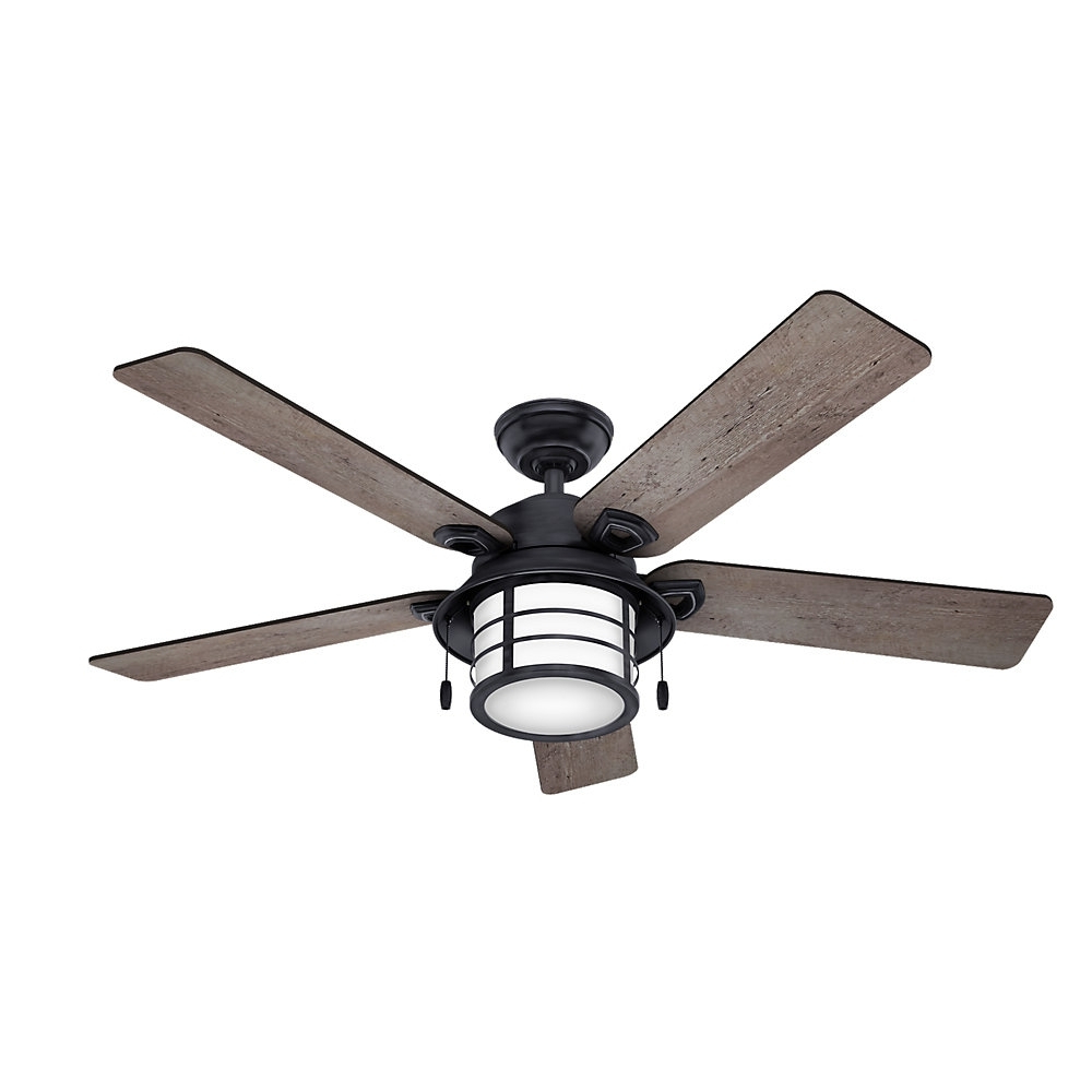 Key Biscayne 5 Blade Outdoor Ceiling Fans With Well Liked Gallery Of Outdoor Ceiling Fans With Removable Blades (view (View 14 of 20)