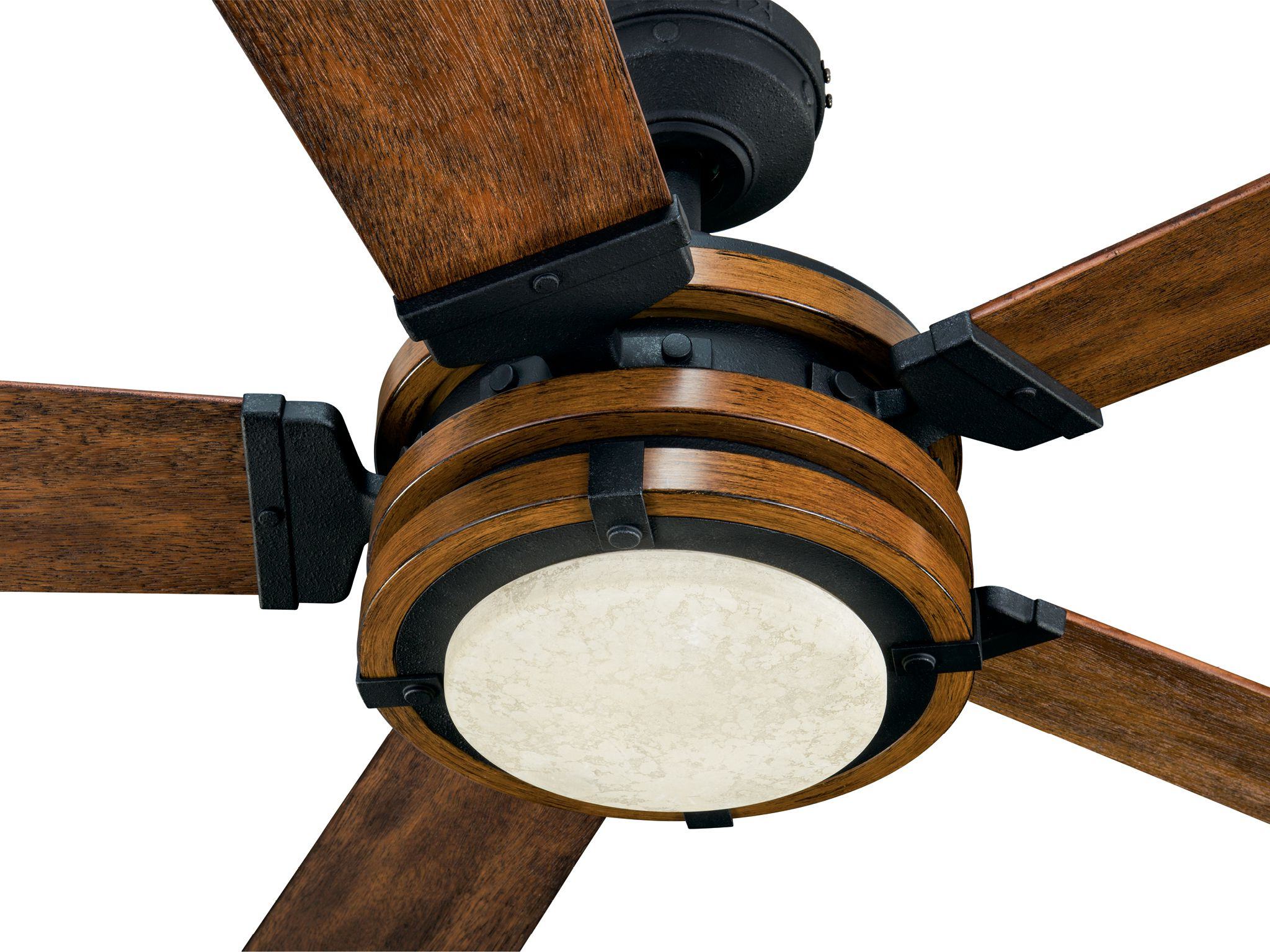 Kichler Barrington 3 Light Black Traditional Vanity Light With Regard To Most Up To Date Auden 5 Blade Led Ceiling Fans (View 20 of 20)