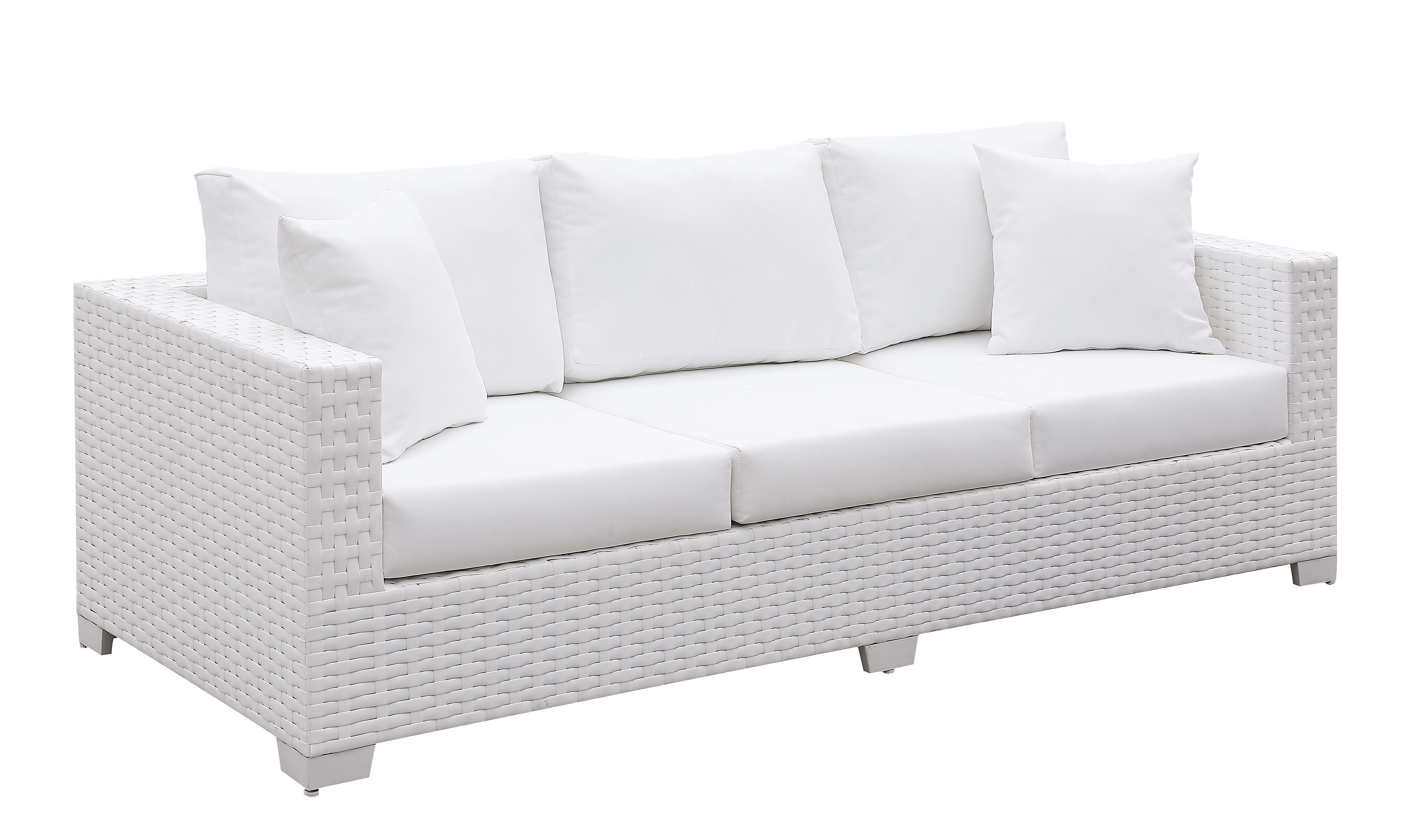 Kuhn Sofa With Cushion Within Current Olu Bamboo Large Round Patio Daybeds With Cushions (View 8 of 20)