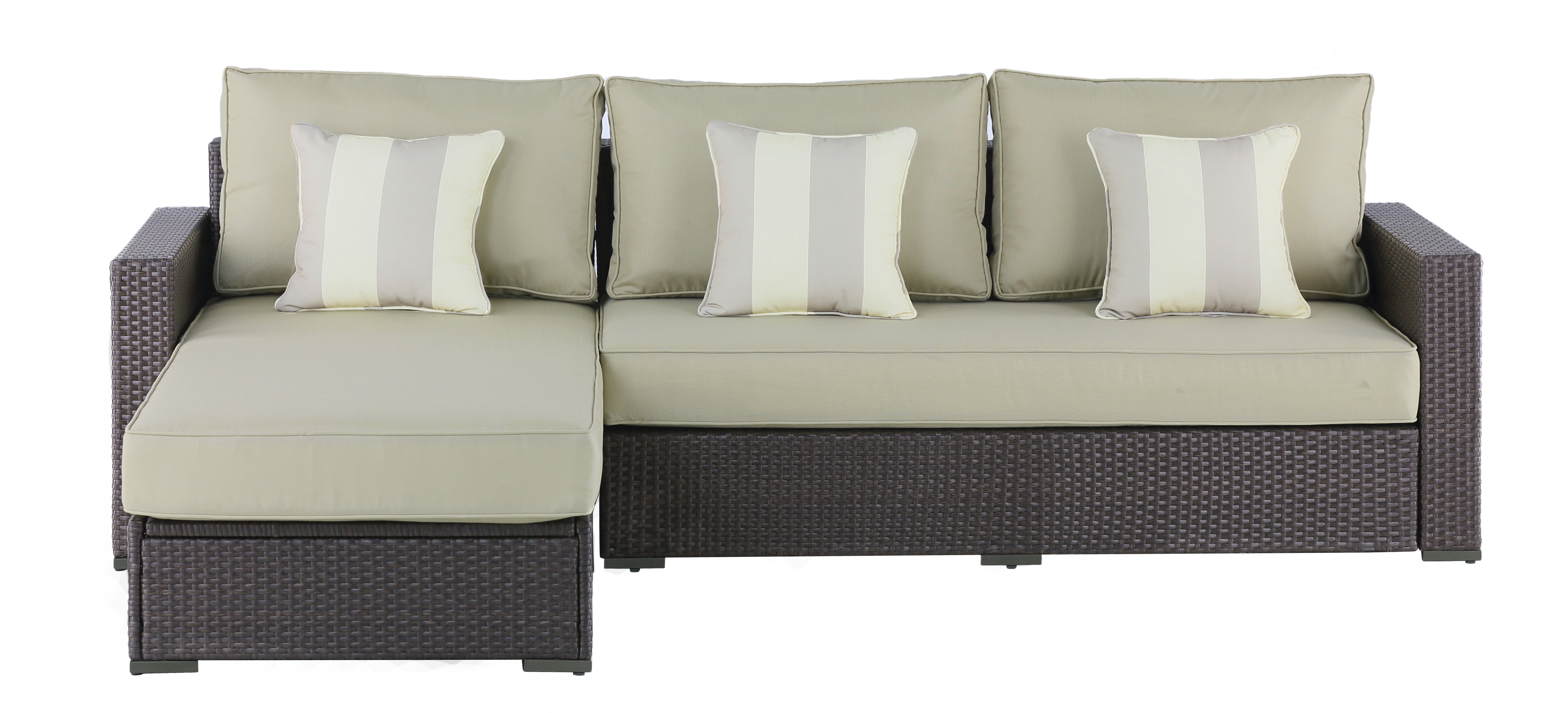 Laguna Sectional With Cushions With Fashionable Laguna Outdoor Sofas With Cushions (View 12 of 20)
