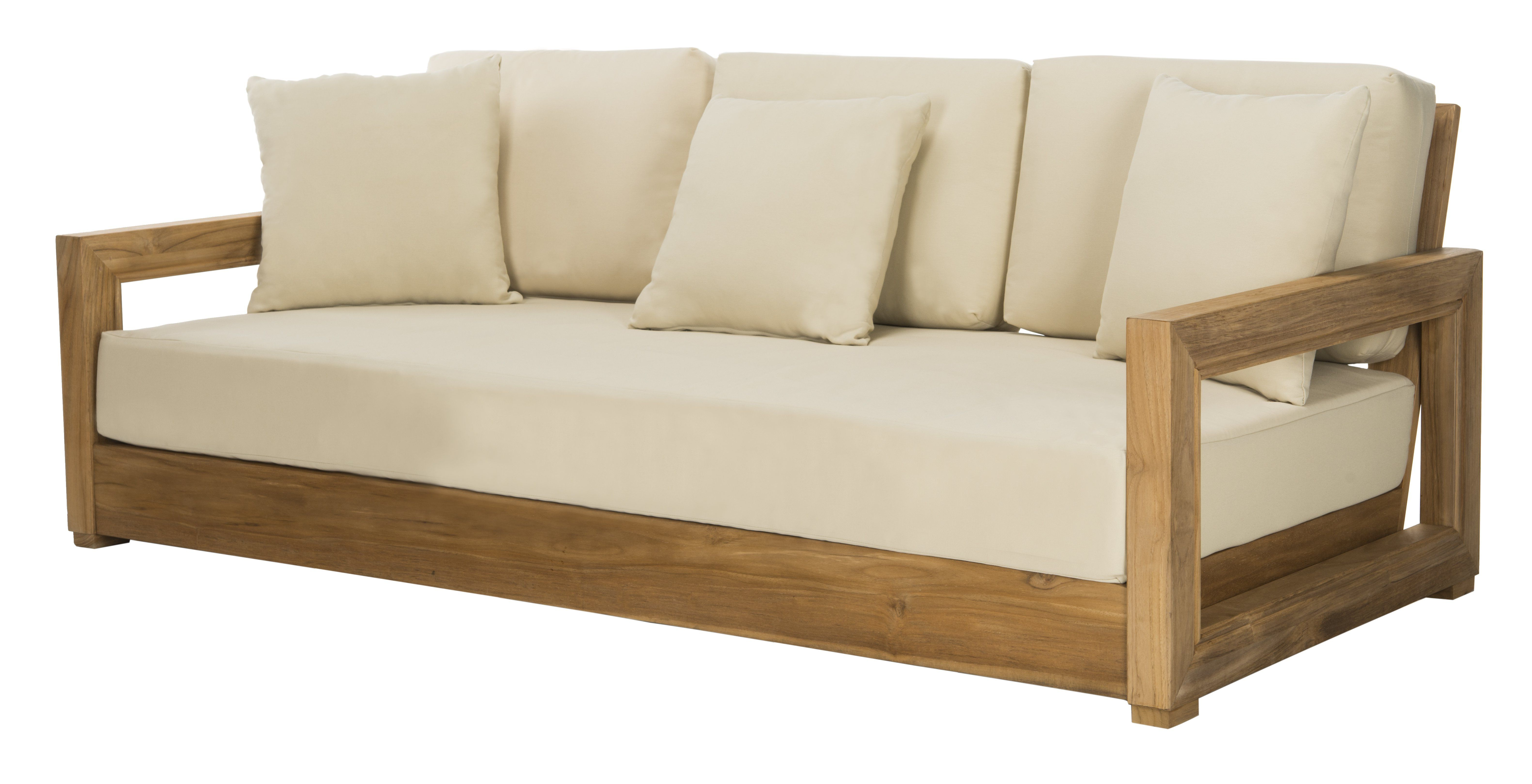 Lakeland Patio Sofa With Cushions (View 9 of 20)