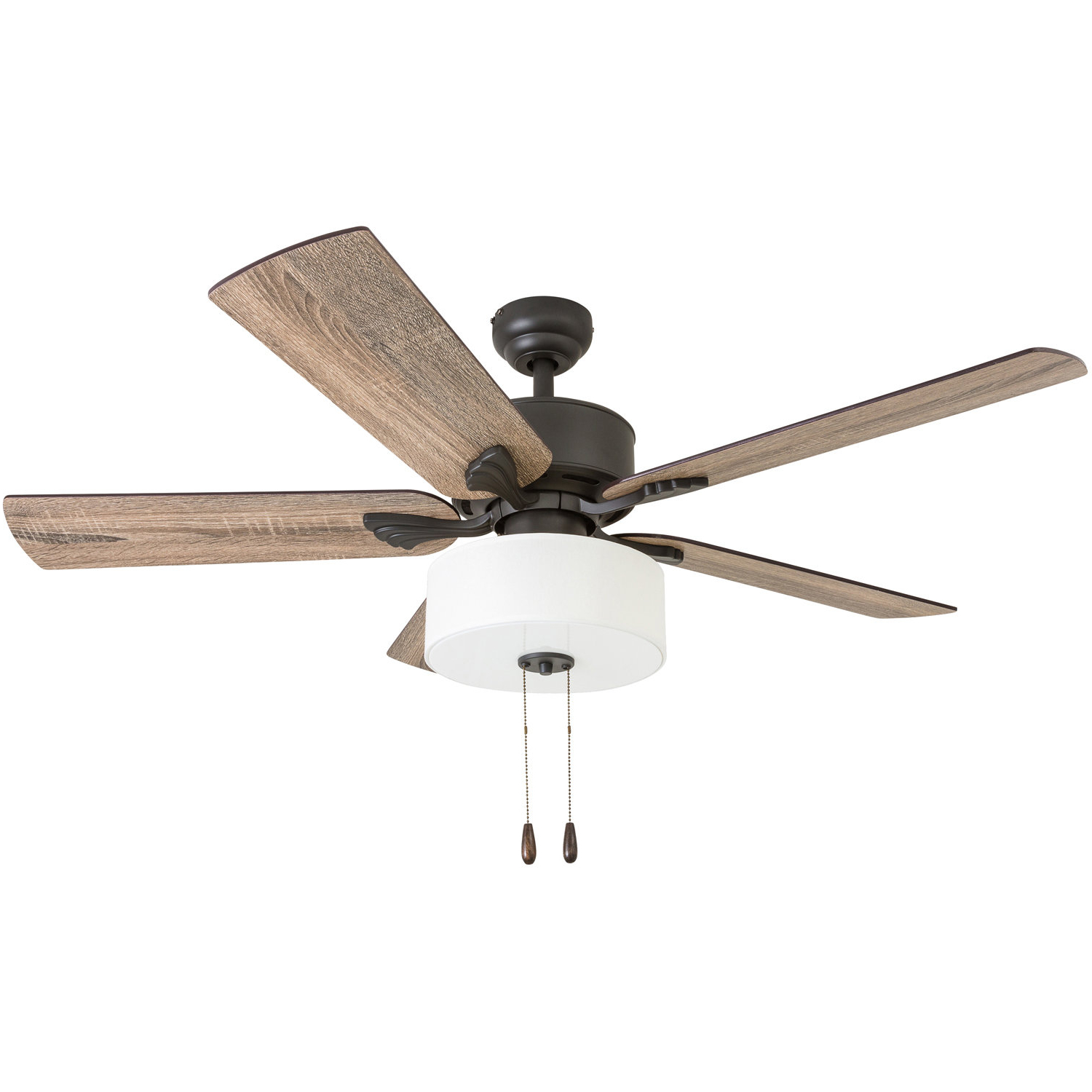 """Latest 52"""" Pannell 5 Blade Led Ceiling Fan With Regard To Sudie 5 Blade Led Ceiling Fans (View 10 of 20)"""