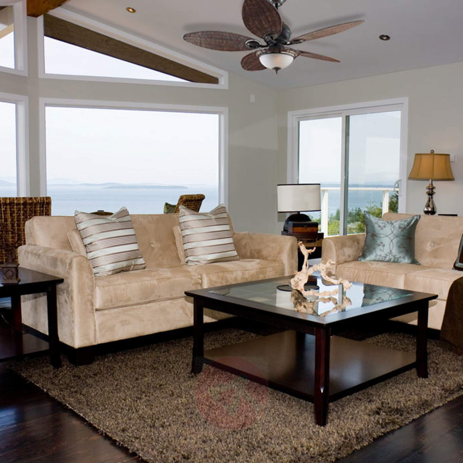Latest Caribbean Breeze 5 Blade Ceiling Fans Intended For Hunter Caribbean Breeze Ceiling Fan (View 12 of 20)