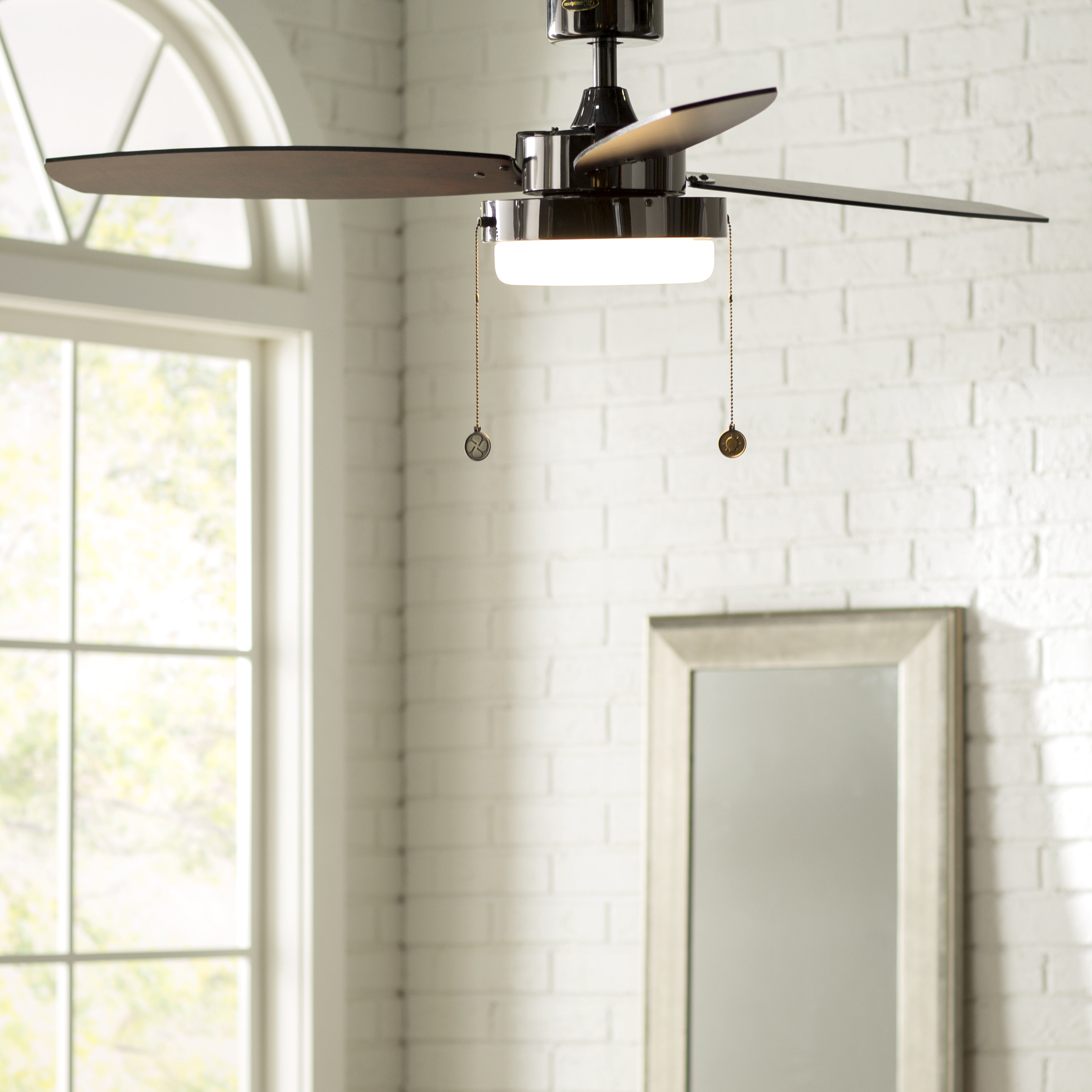 """Latest Corsa 3 Blade Ceiling Fans With 52"""" Corsa 3 Blade Ceiling Fan, Light Kit Included (View 4 of 20)"""