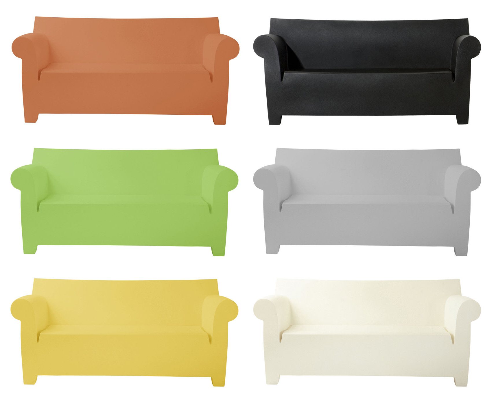 Latest Kartell Sofa Bubble Club With Regard To Bubble Club Sofas (View 3 of 20)