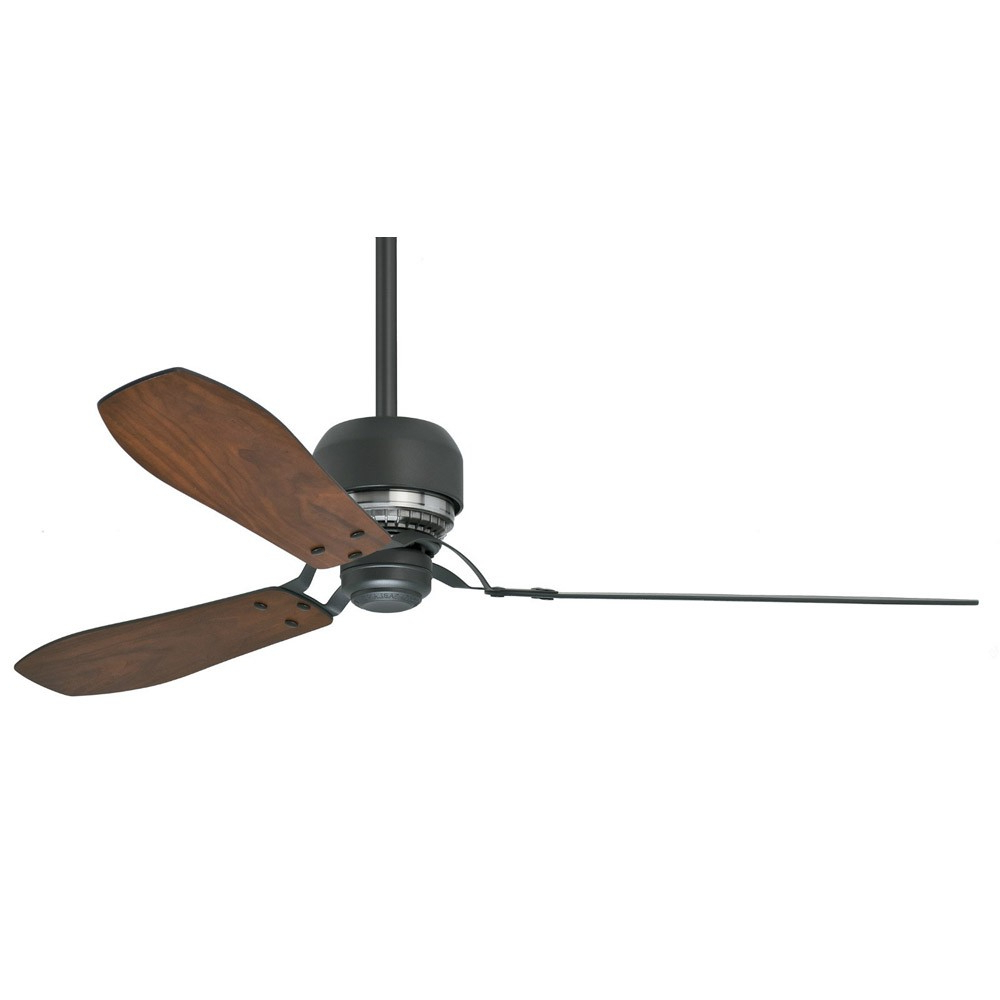 Latest Loft 3 Blade Ceiling Fans Throughout Casablanca Tribeca 60 Inch Ceiling Fan 59505 – Graphite Finish Modern 3 Blade Fan (View 5 of 20)