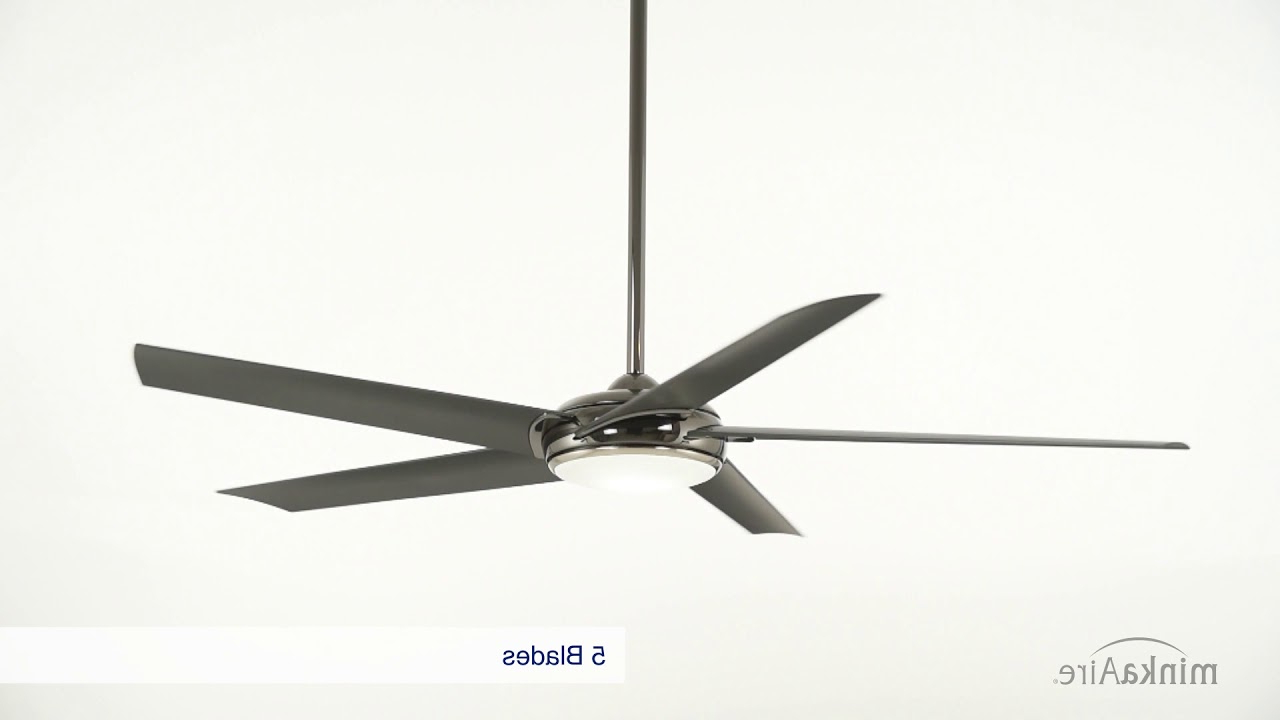 Latest Minka Aire Raptor Ceiling Fan In Raptor 5 Blade Ceiling Fans (View 9 of 20)