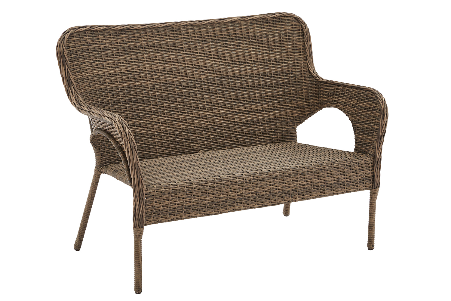Latest Wicker Loveseats For Better Homes And Gardens Camrose Wicker Loveseat (View 13 of 20)