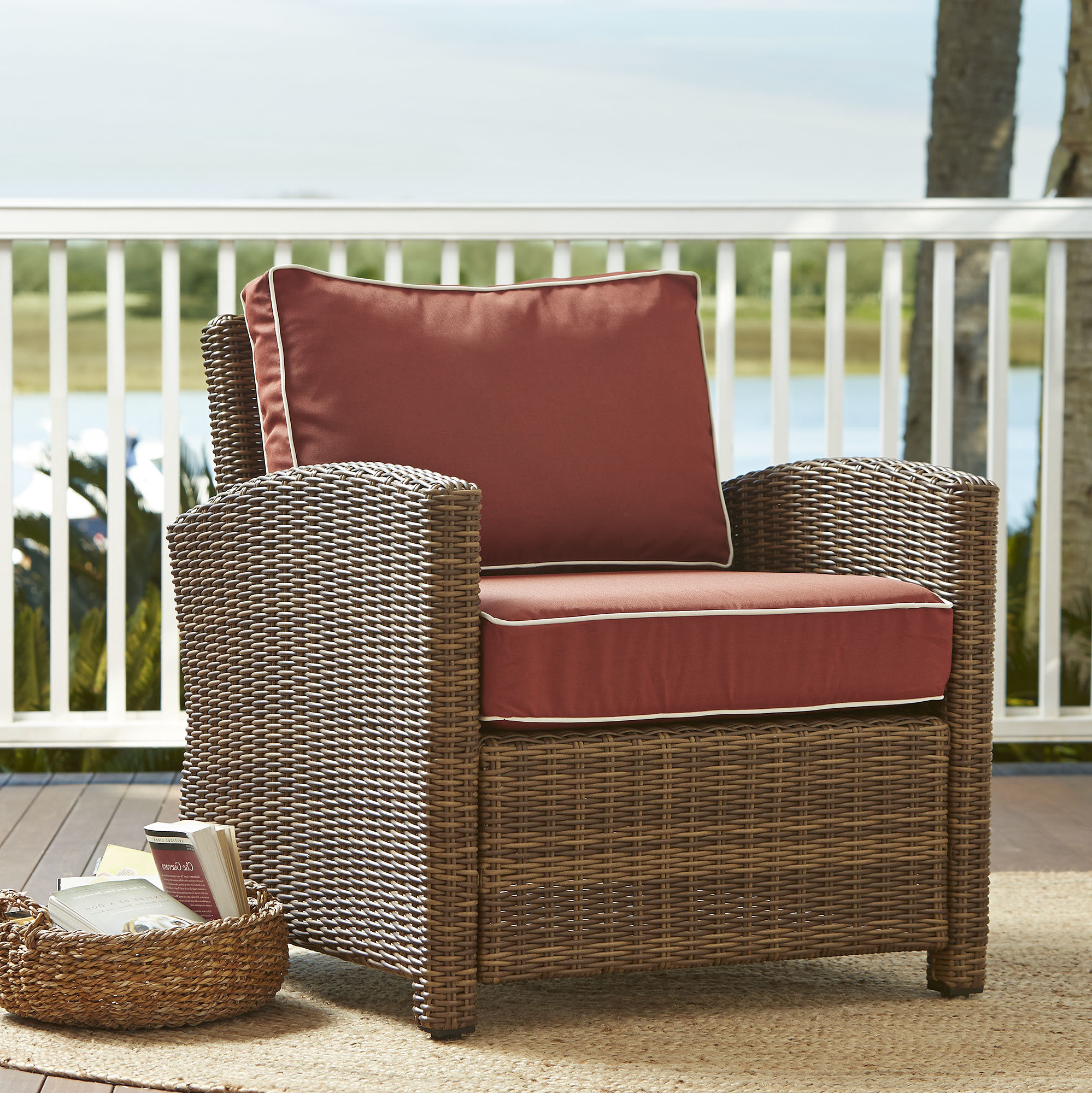 Lawson Patio Chair With Cushions Within Best And Newest Belton Patio Sofas With Cushions (View 19 of 25)