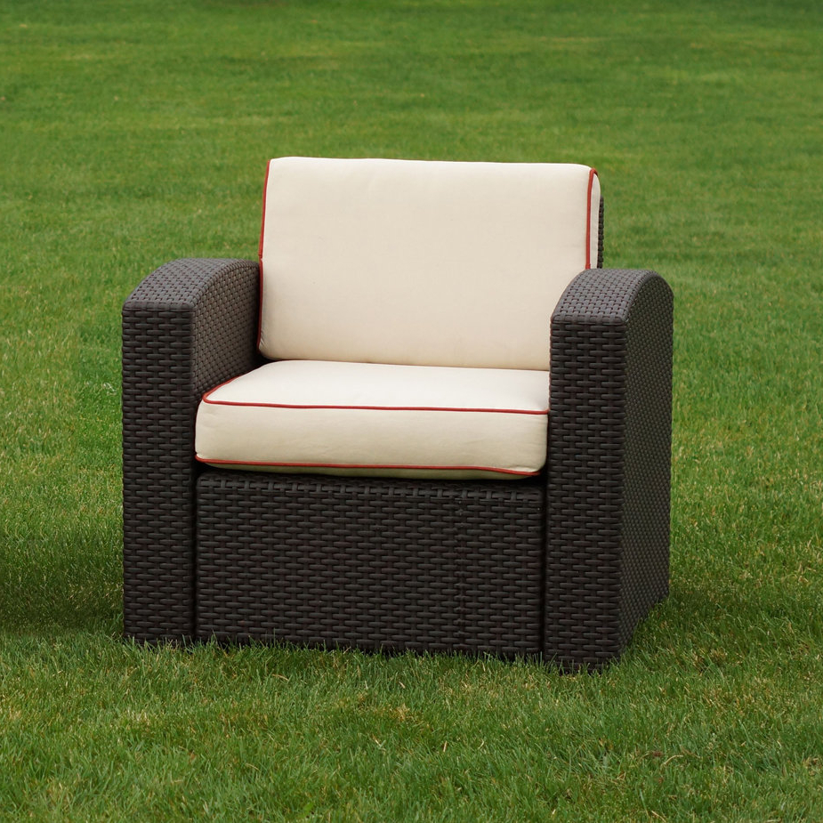 Loggins Patio Chair With Cushions Within Newest Loggins Patio Sofas With Cushions (View 8 of 20)